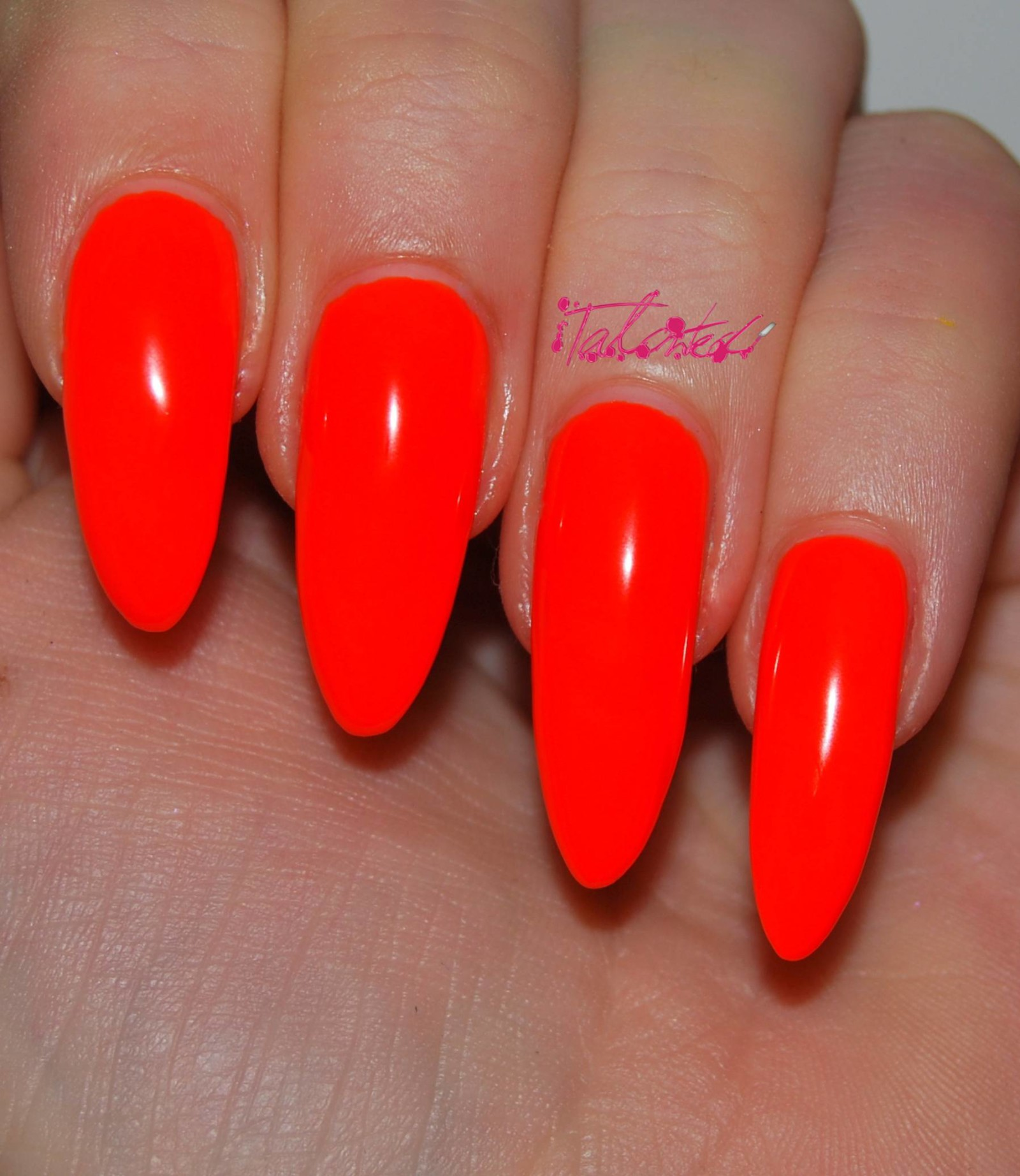 Models Own Fluoro Orange