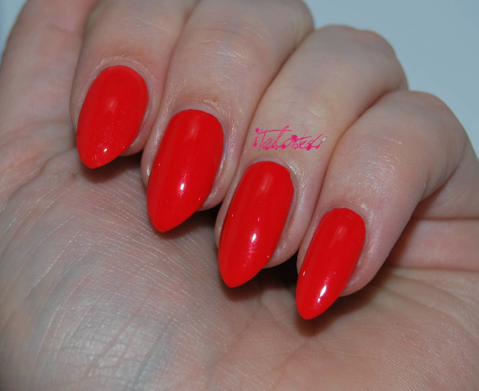 OPI My Paprika Is Hotter Than Yours