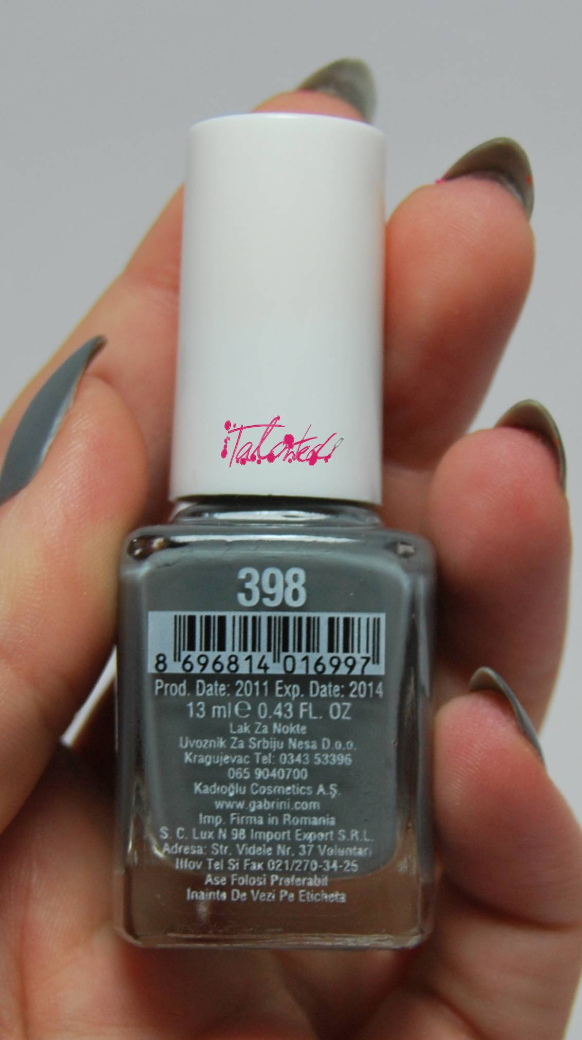Gabrini 398 Nail Varnish Review
