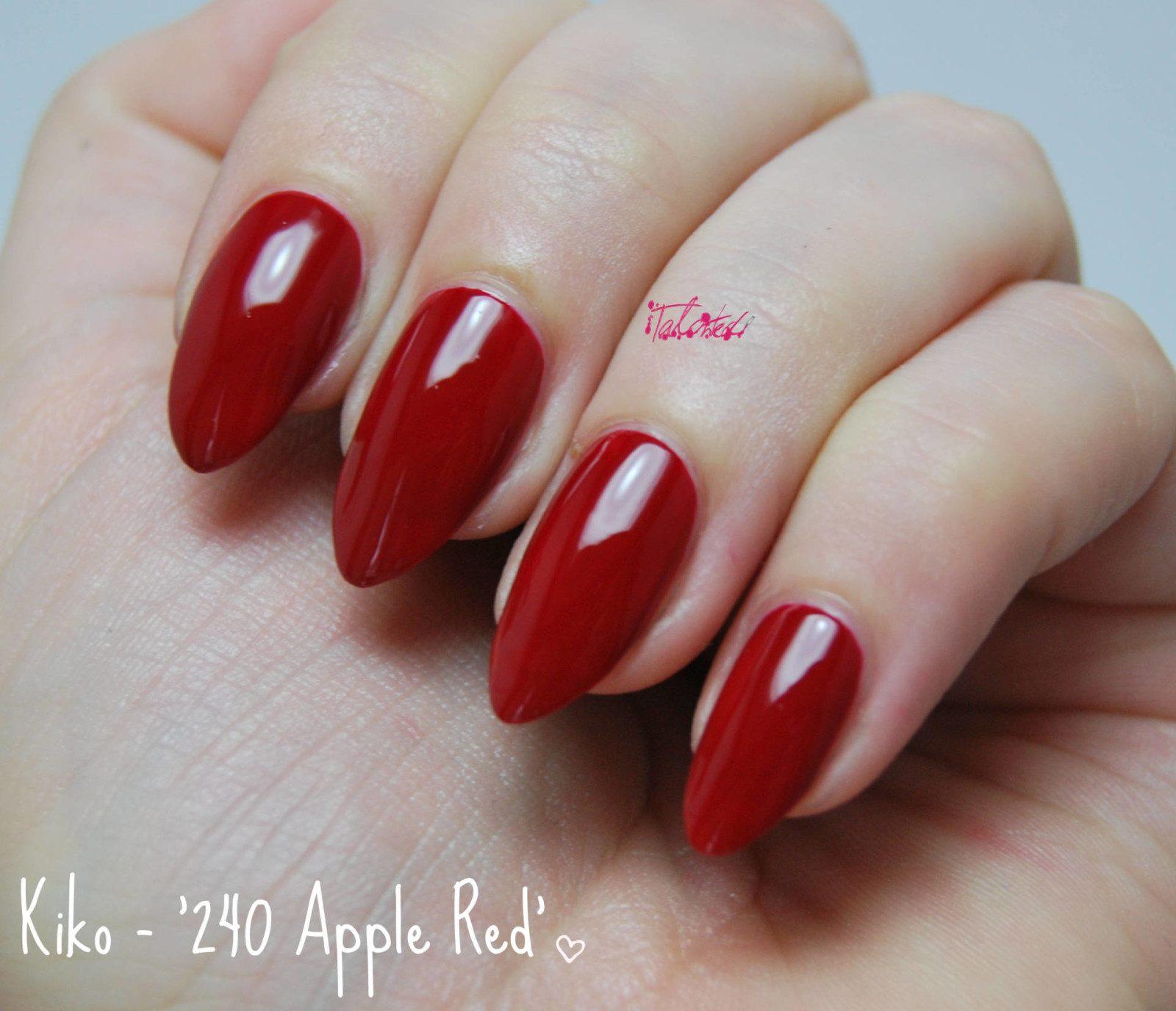 Kiko 240 Apple Red Review