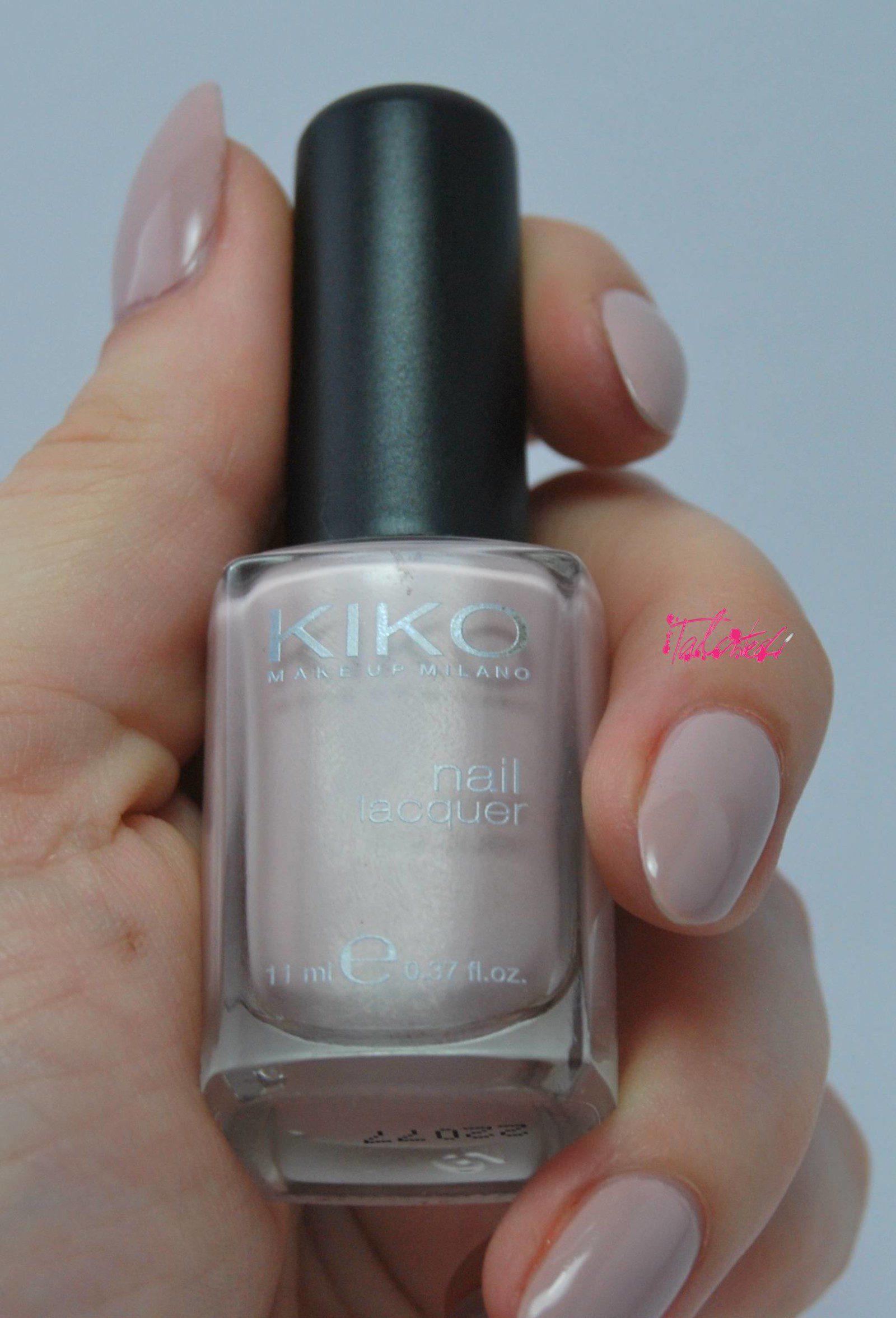 Kiko 372 Nude Nail Varnish