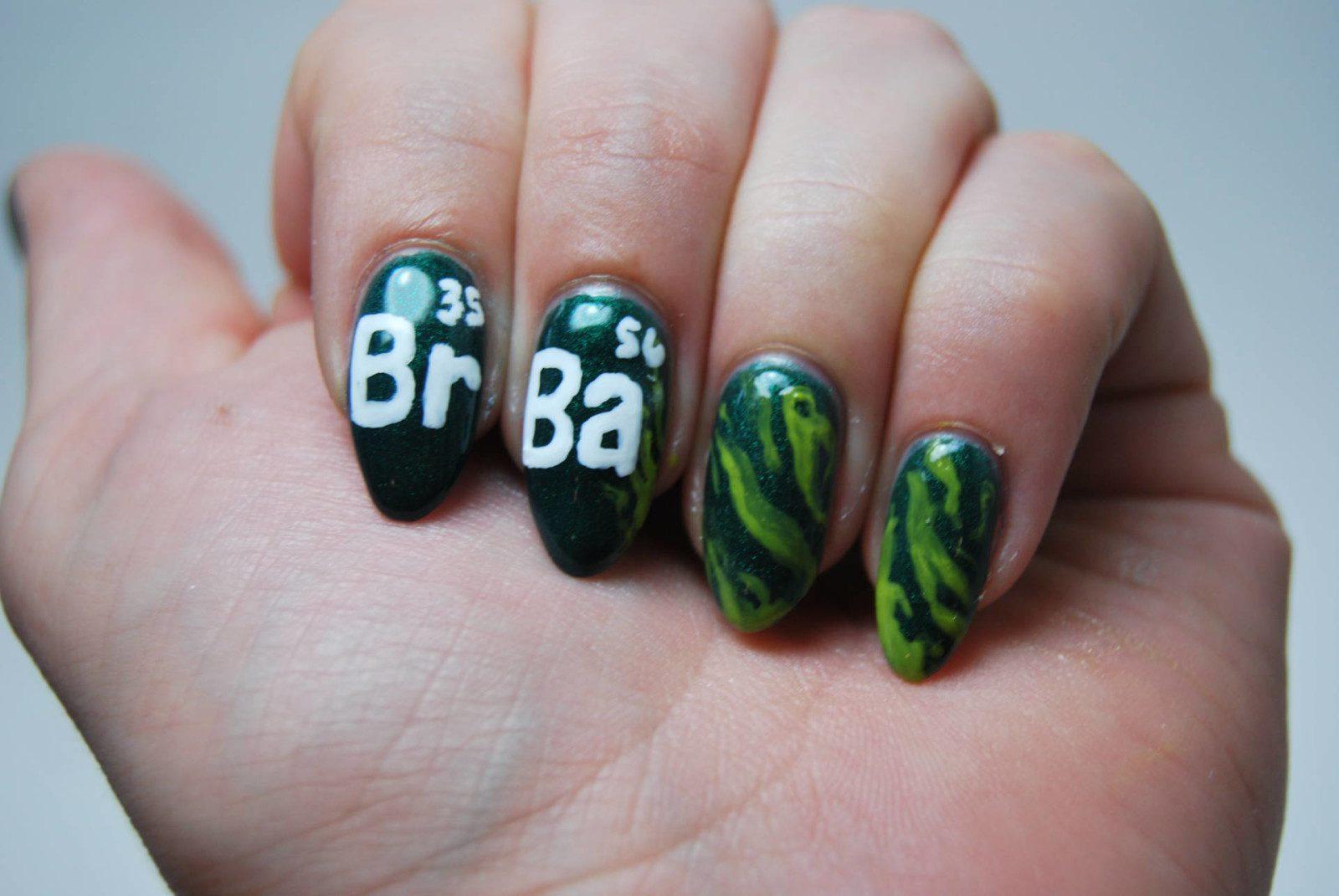 Breaking Bad Nail Art