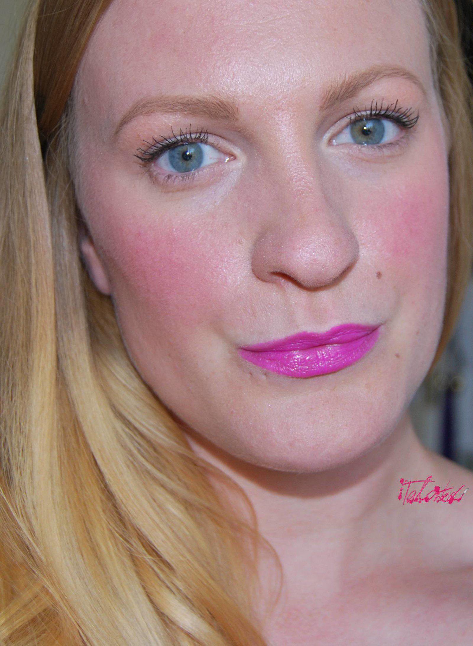 Claires Accessories lipstick Baby Pink