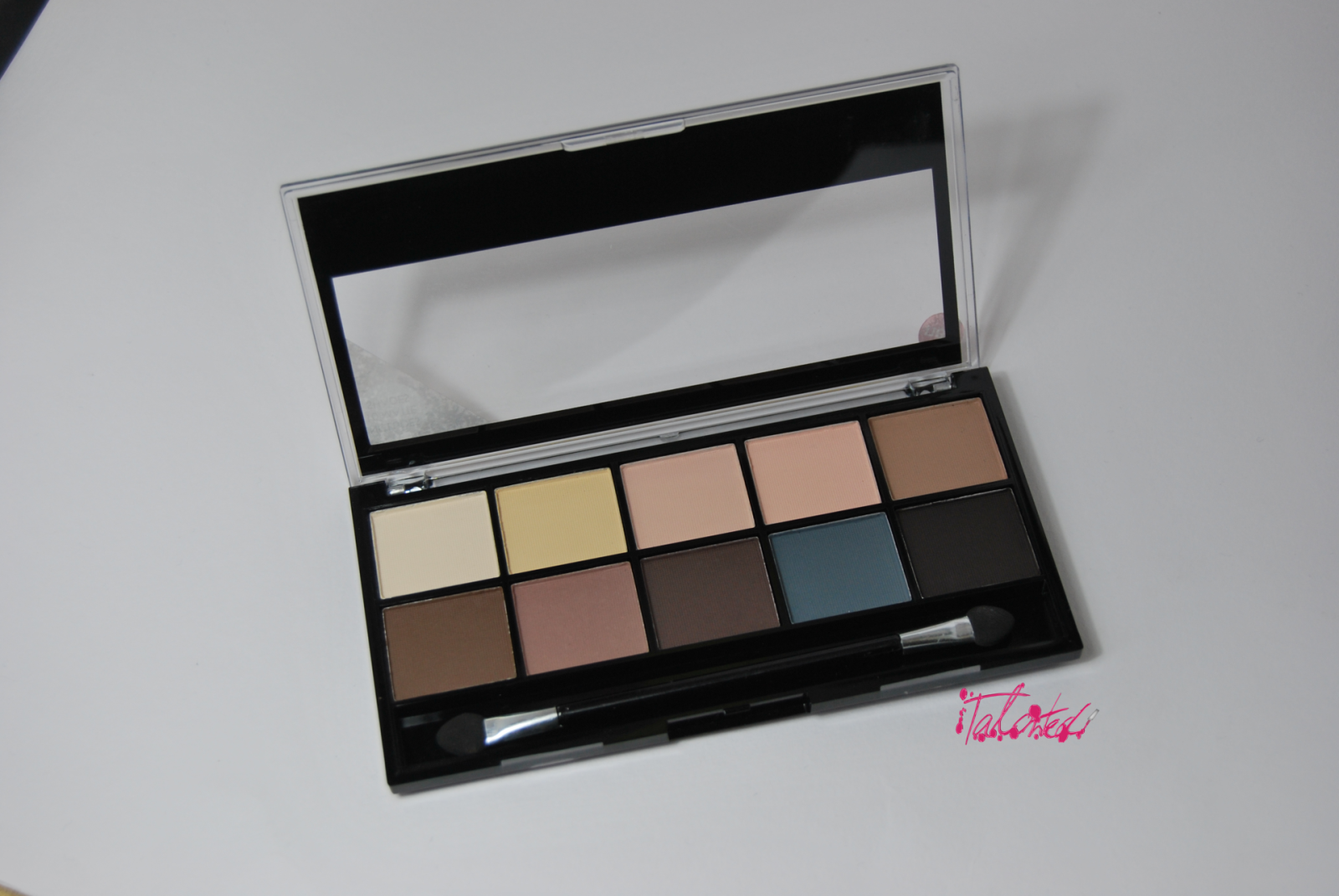 MUA Matte Palette Review