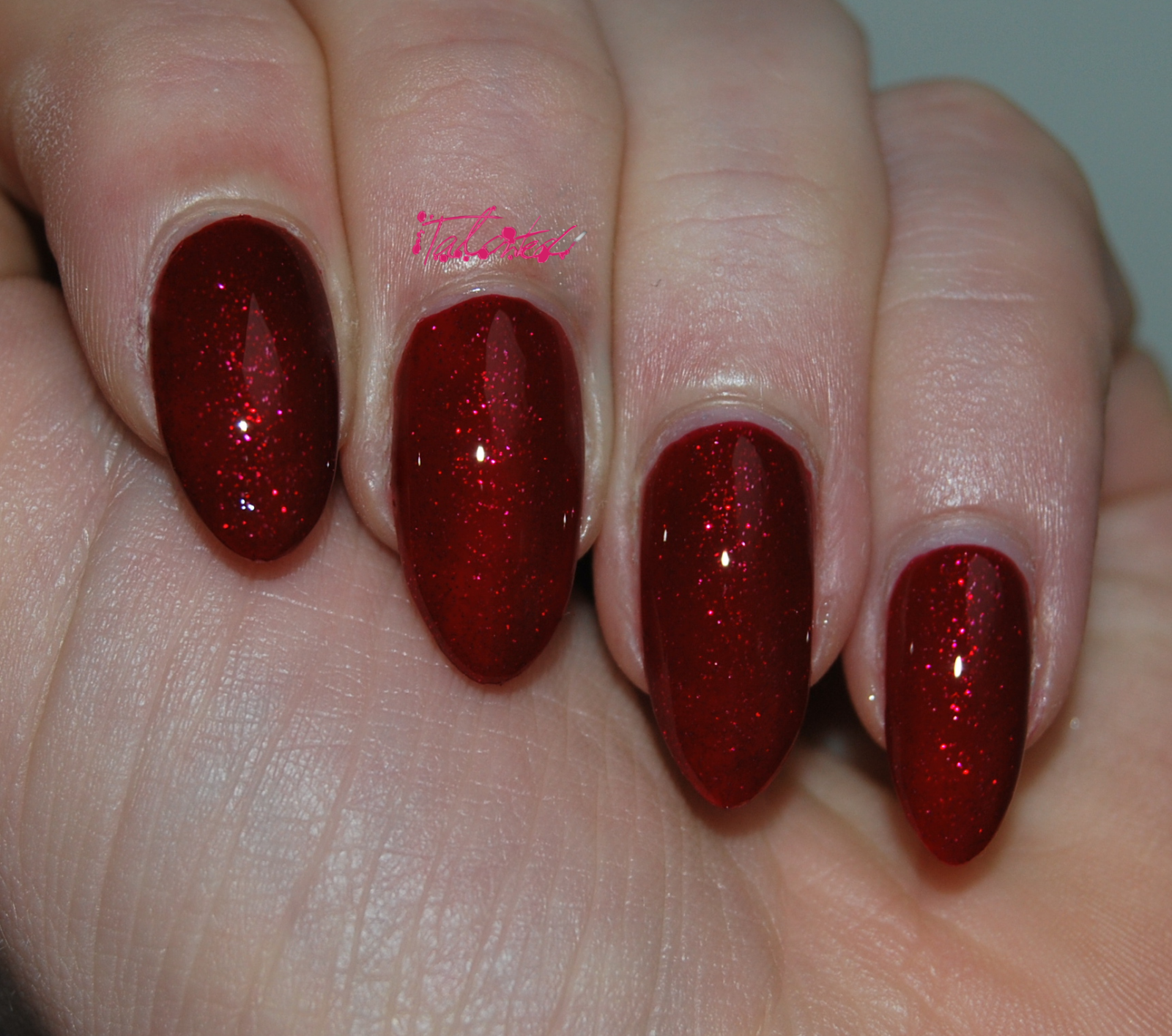 OPI Under The Mistletoe nail varnish