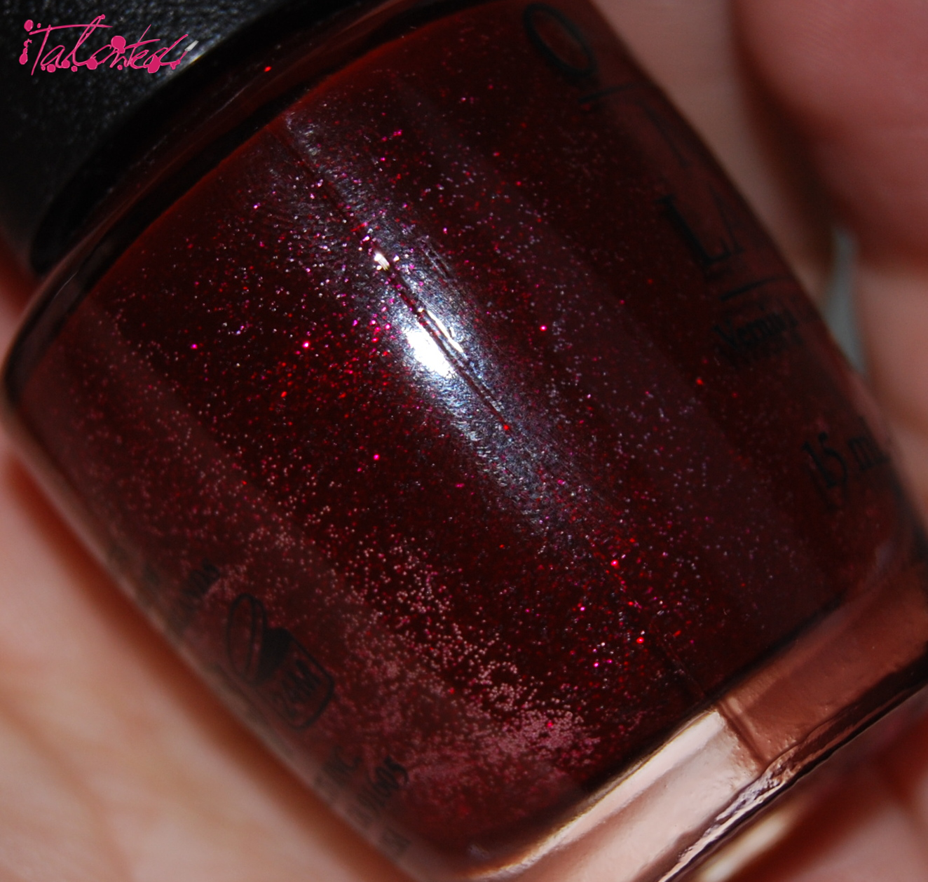 OPI 'Underneath The Mistletoe' nail varnish