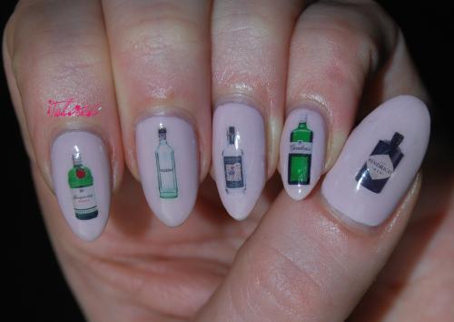DIY Nails custom nail decals