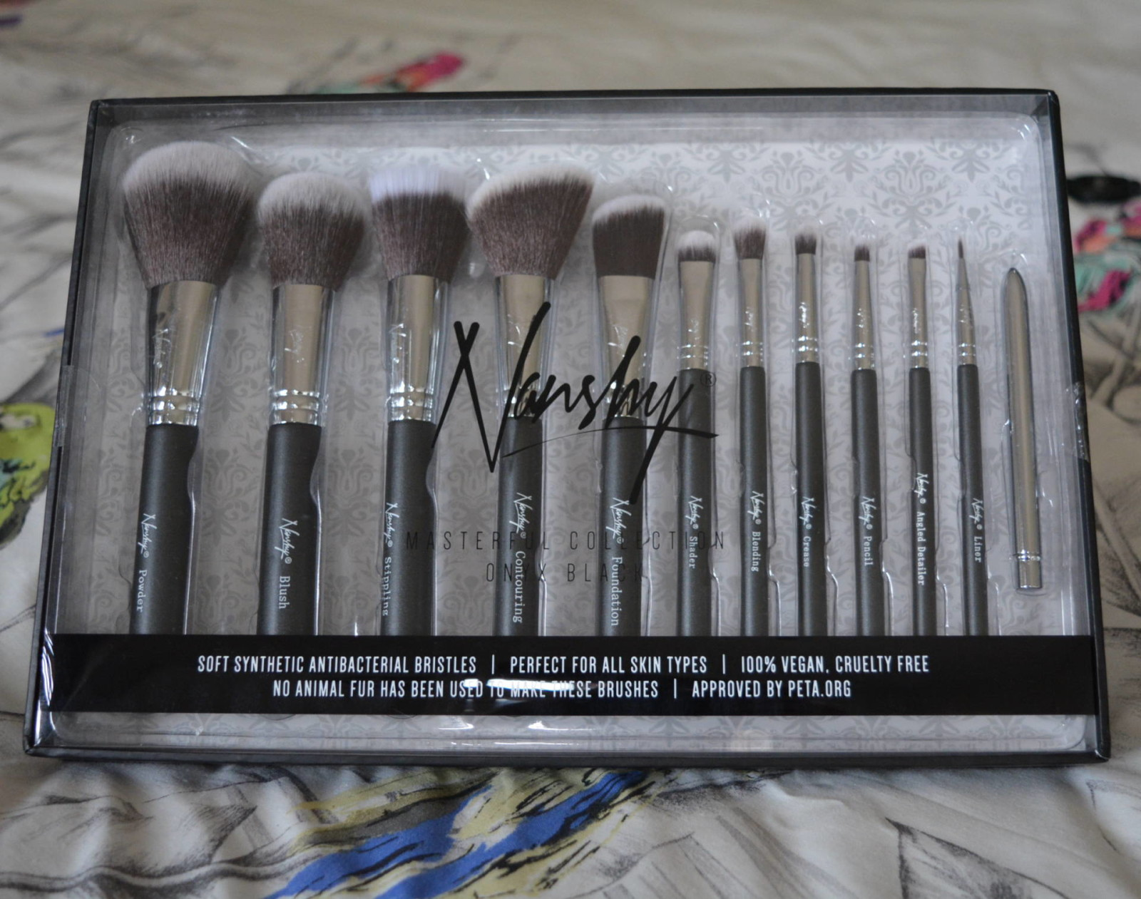 Nanshy Masterful Collection Make Up Brushes