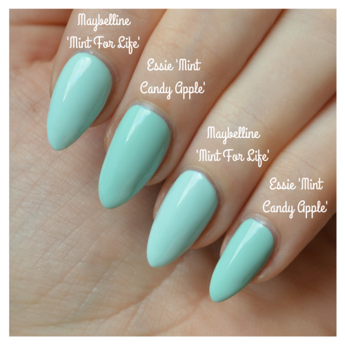 Dupe For Essie Mint Candy Apple From The High Street Talonted Lex