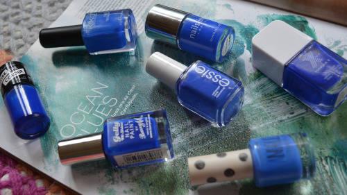 Cobalt Nail Varnish Comparison