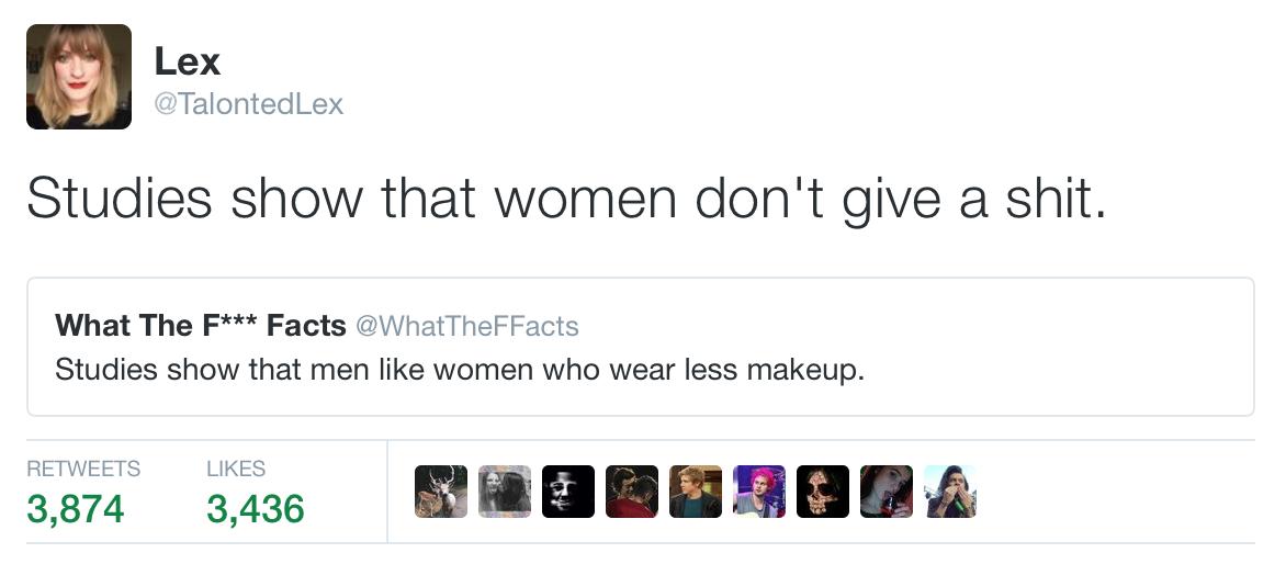 Men Like Women Who Wear Less Make Up