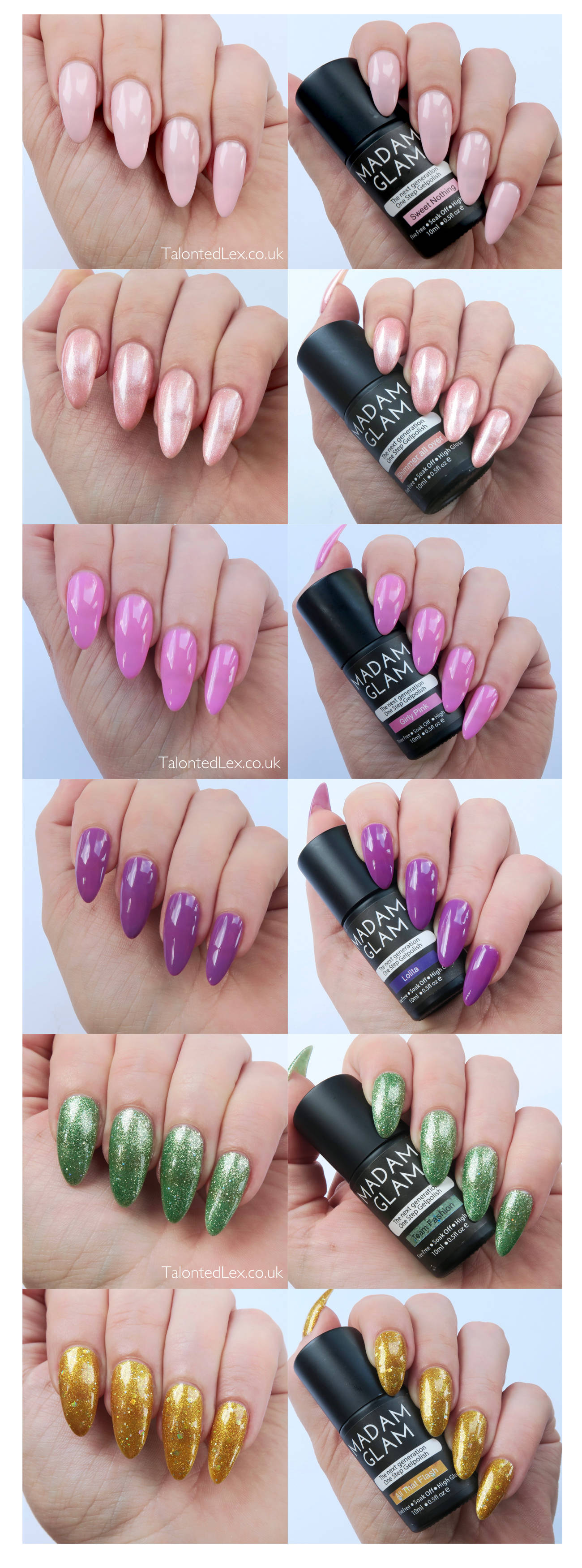 Madam-Glam-One-Step-Gels-Collage
