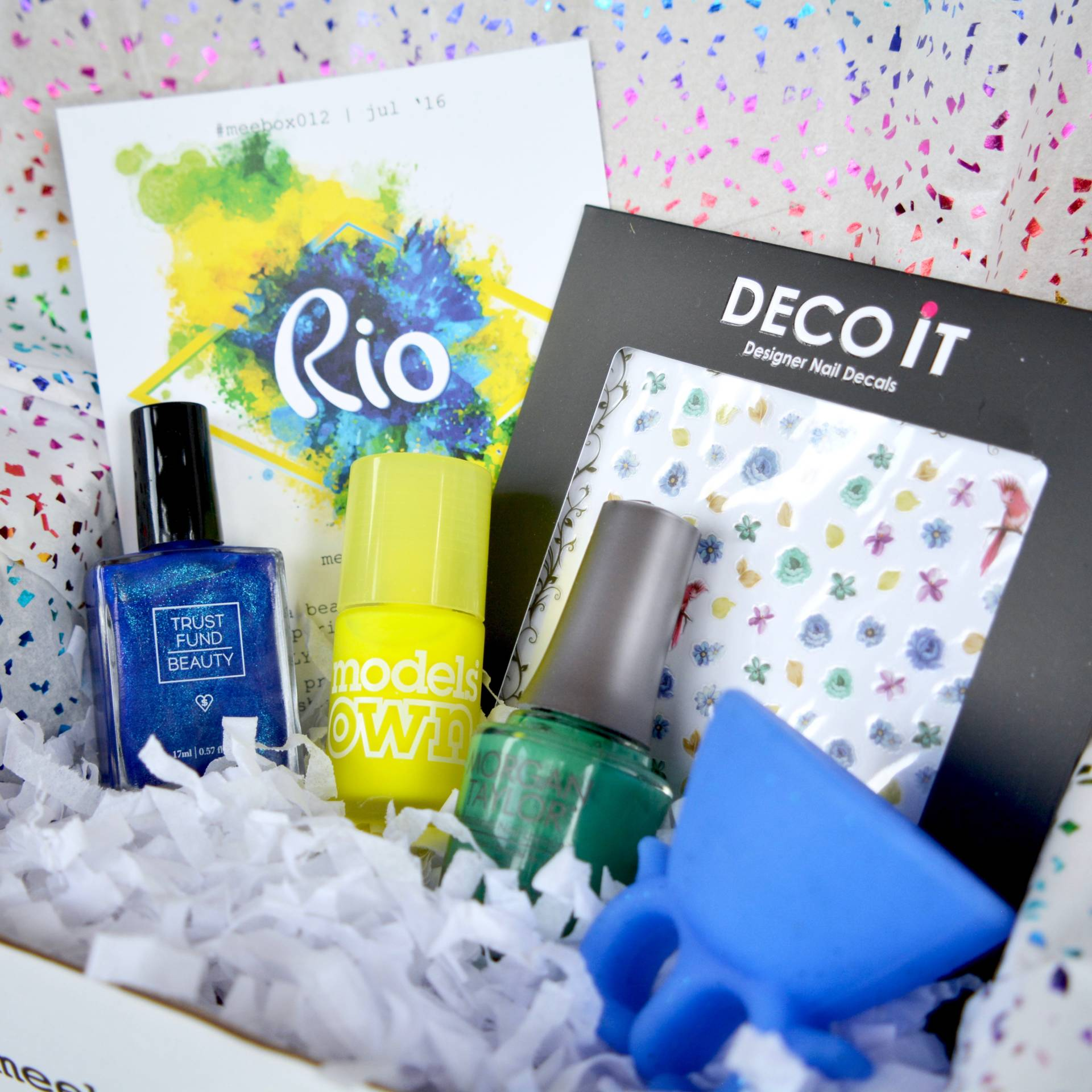 Meebox Nail Subscription Box Rio