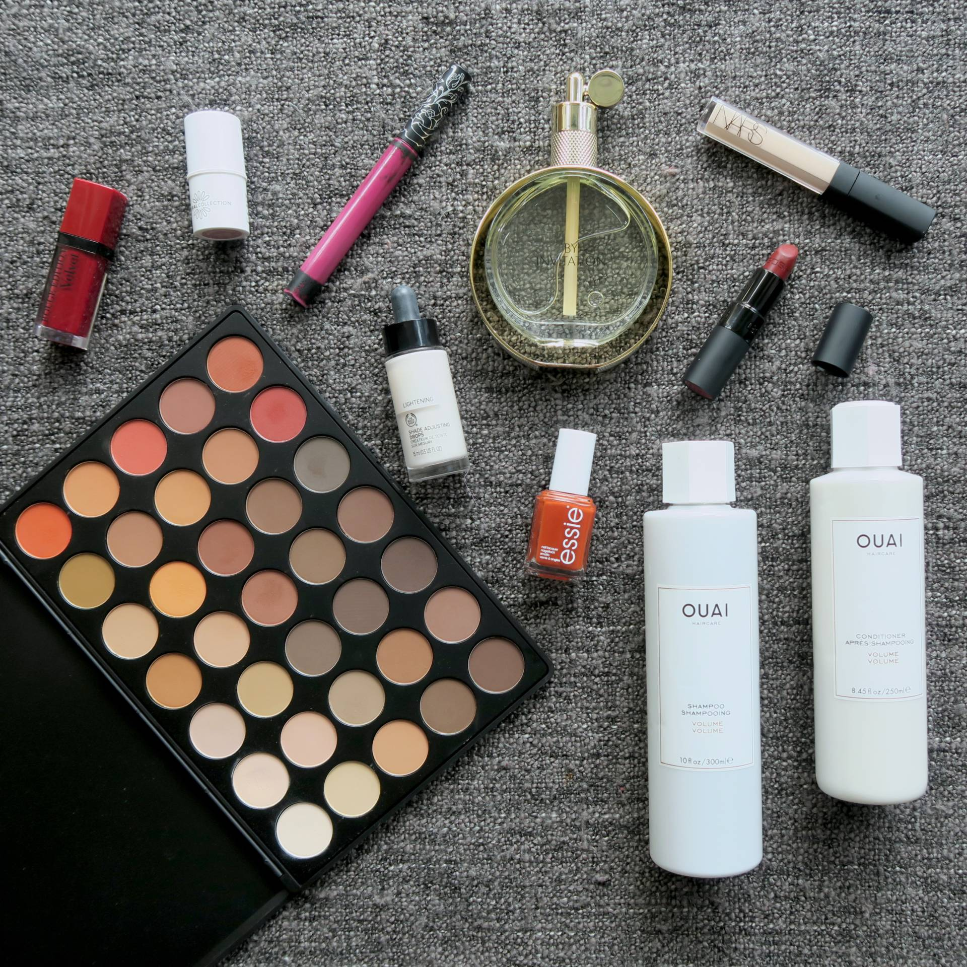 Current Favourites // Talonted Lex. Feat. essie, Ouai, Morphe, Bourjois, Kat Von D, Natural Collection, The Body Shop, By Invitation fragrance, NARS, GOSH and TV recommendations