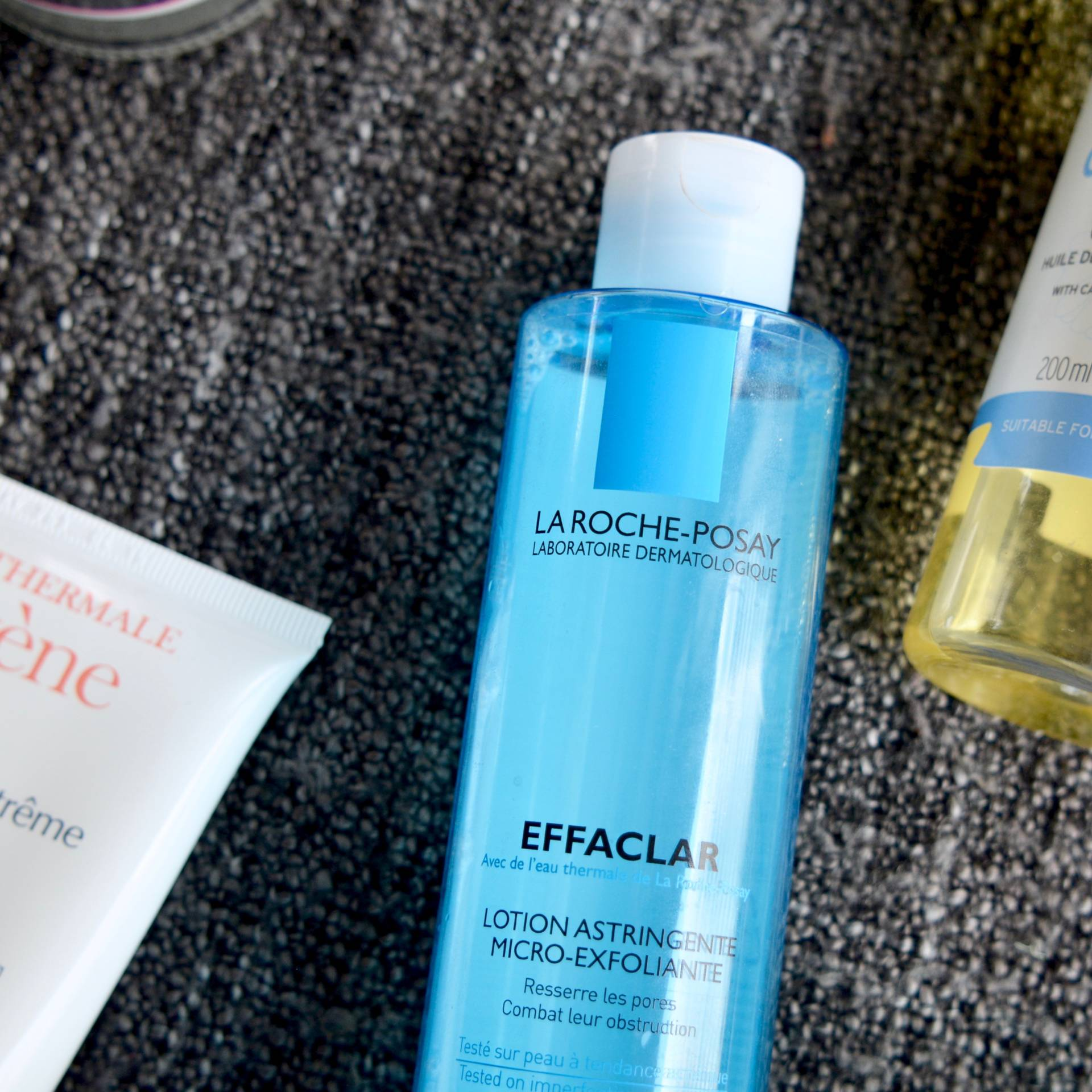 Skincare Shake Up, October 2016: All of the skincare I've been using recently that helps my sensitive skin and rosacea. La Roche-Posay Effaclar Micro-Exfoliant Lotion