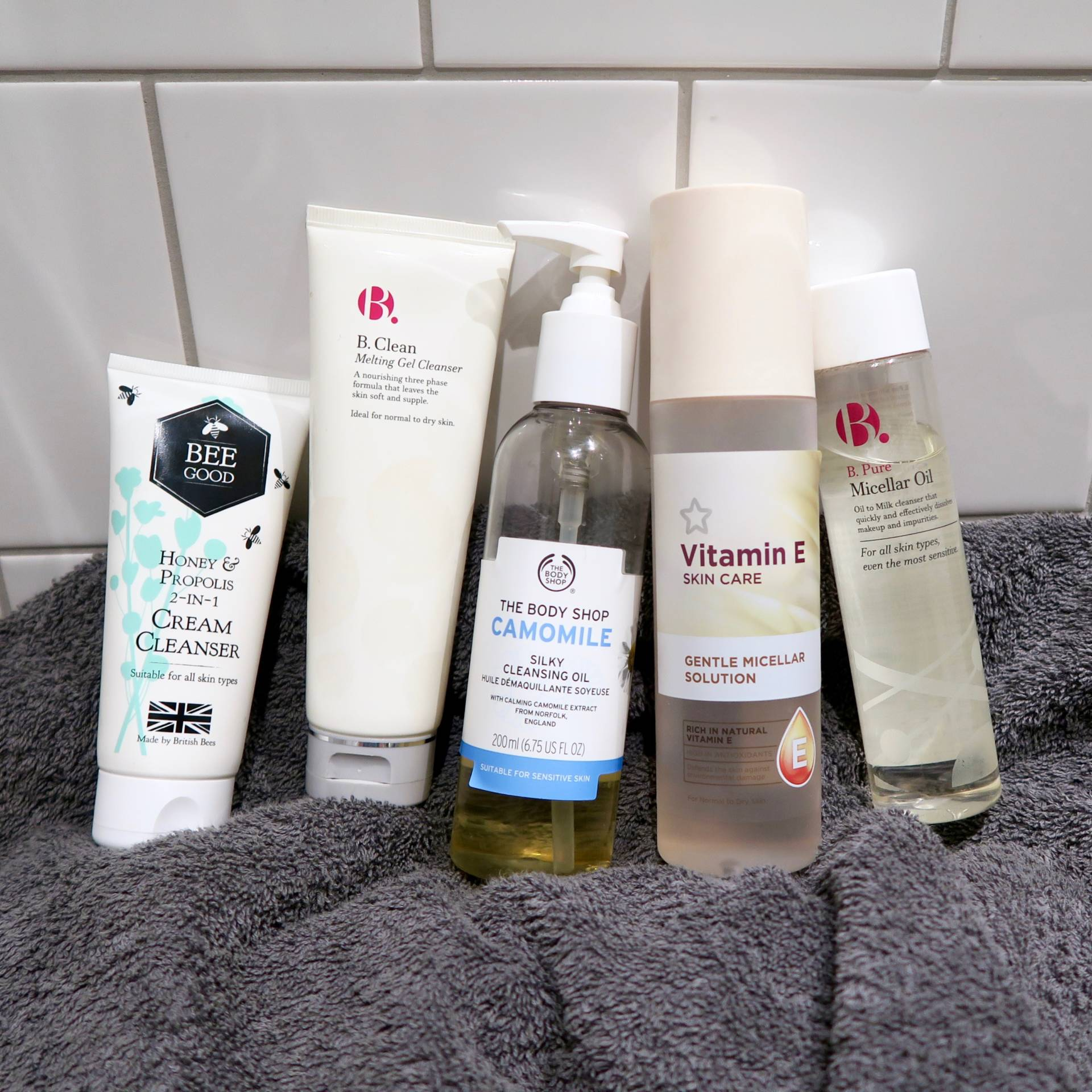 5 best budget cleansers for sensitive skin // Talonted Lex