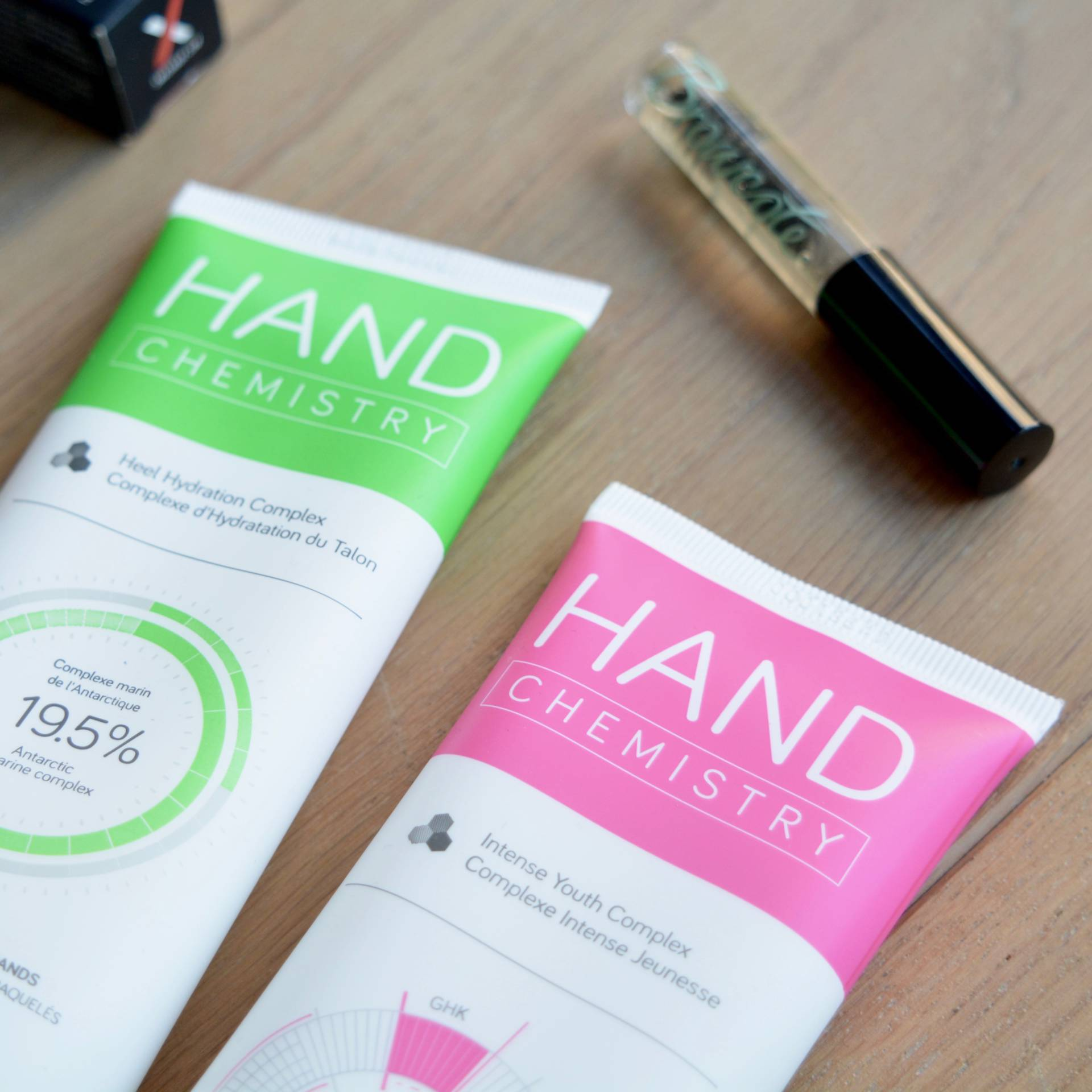 Hand Chemistry hand and foot creams - anti-ageing skincare for the body. Love!
