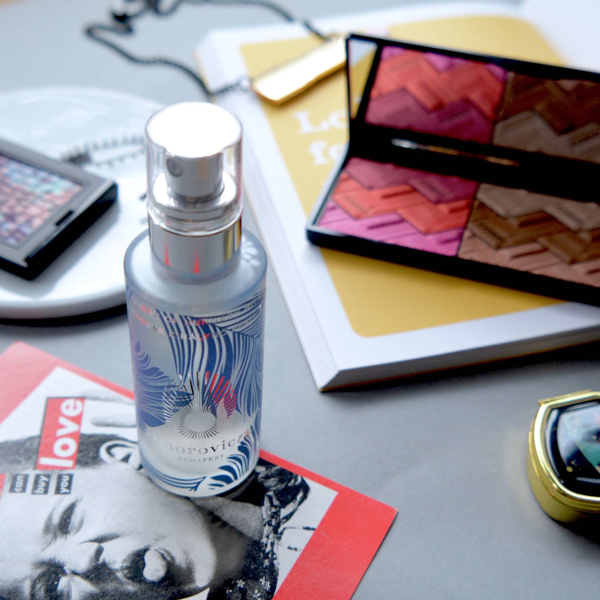 Beauty Products Too Pretty To Use: Omorovicza Queen Of Hungary Mist