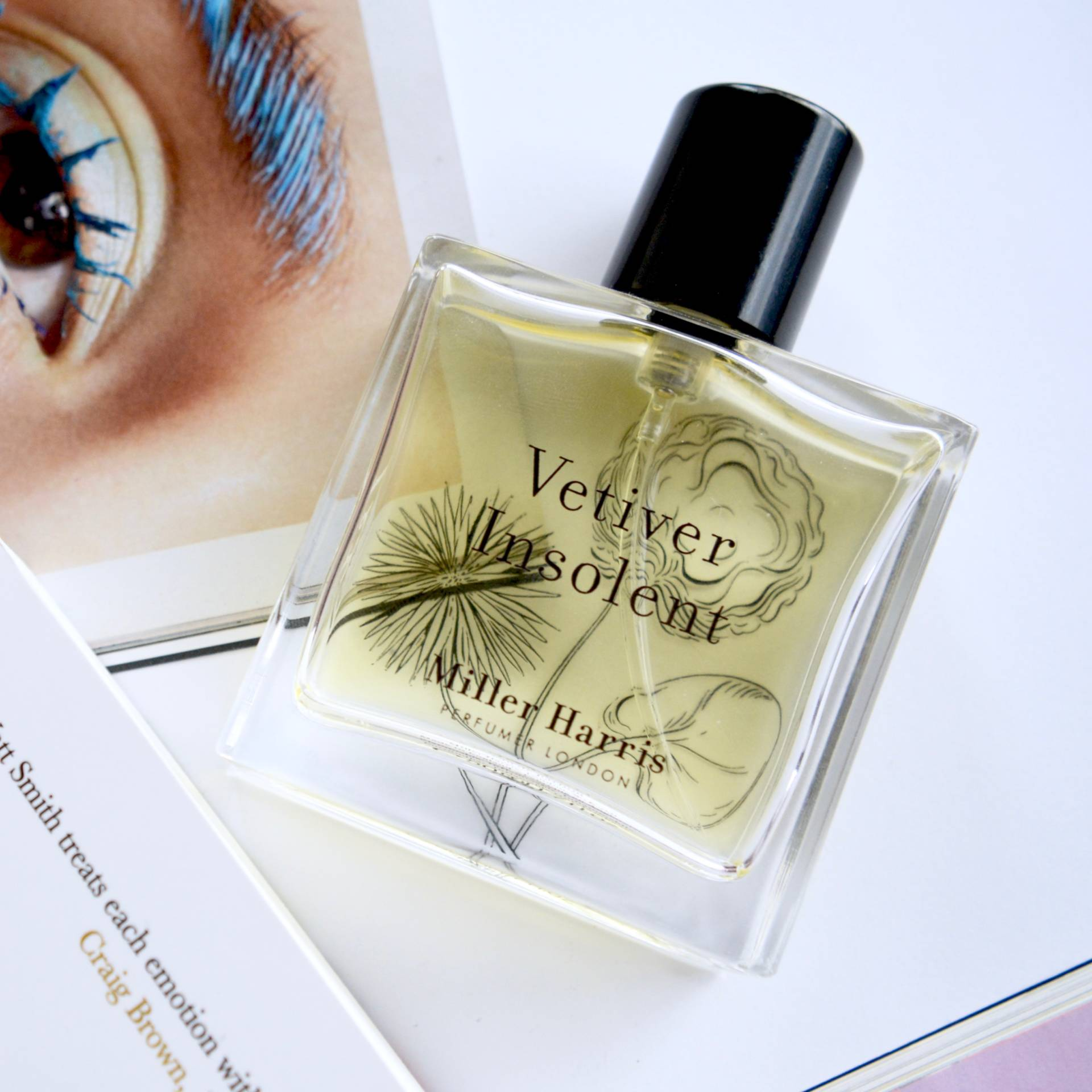 Friday Faves: Miller Harris Vetiver Insolent Eau de Parfum, the most beautiful warm and sexy fragrance.