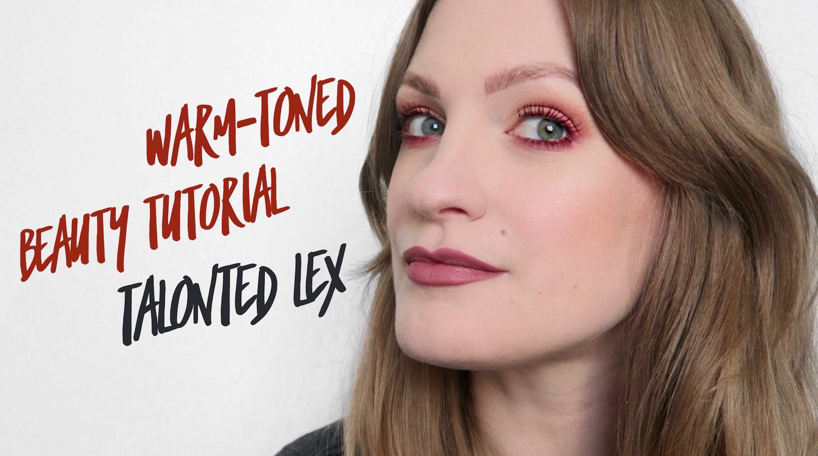 Warm-Toned Eye Beauty Tutorial - if you have green/blue eyes, this eye make up will look incredible on you!