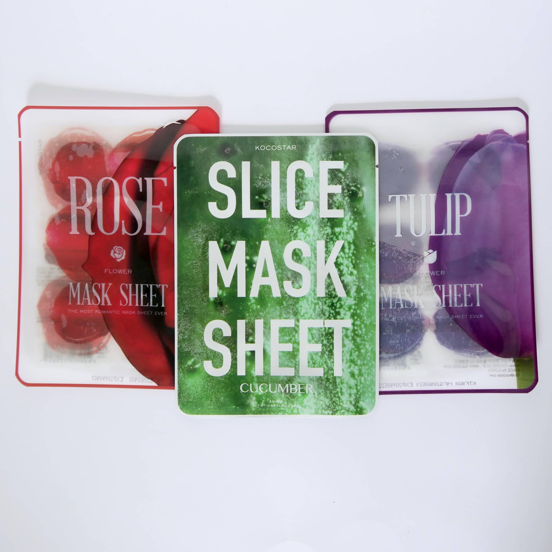 Next Generation Masks - individual sheet mask pieces for a truly tailored face mask experience