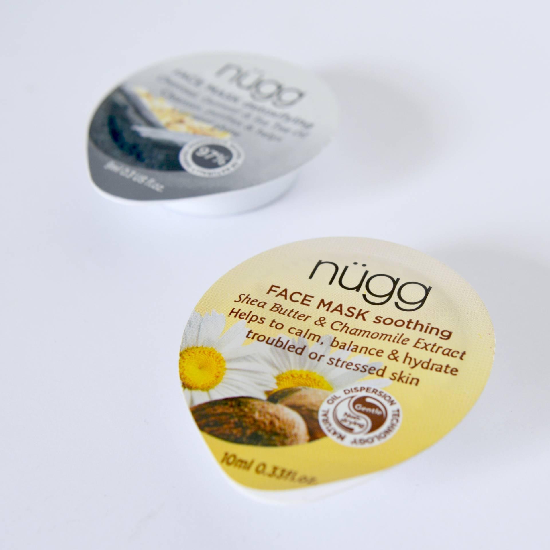 Nugg face mask - individual face mask pots