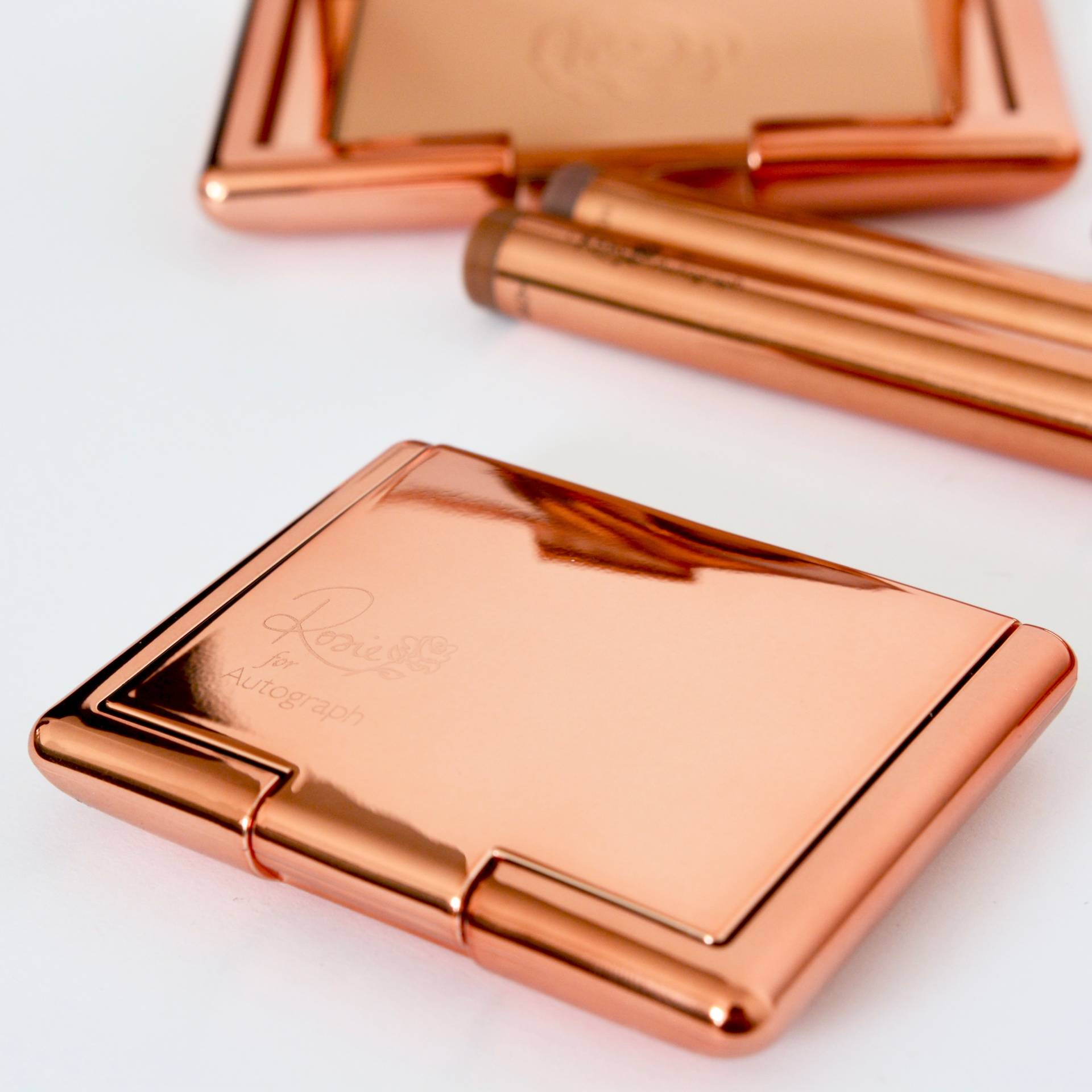 Rosie by Autograph - such beautiful rose gold packaging!