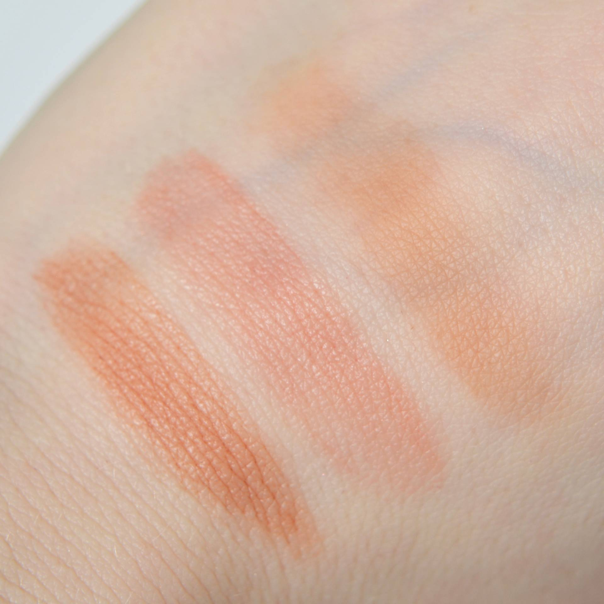 Rosie by Autograph Cream Blusher and Bronzer swatches