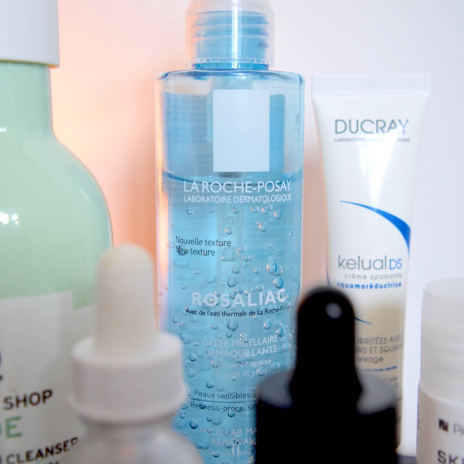 Skincare for rosacea and sensitive skin - La Roche Posay Rosaliac Micellar Make Up Remover