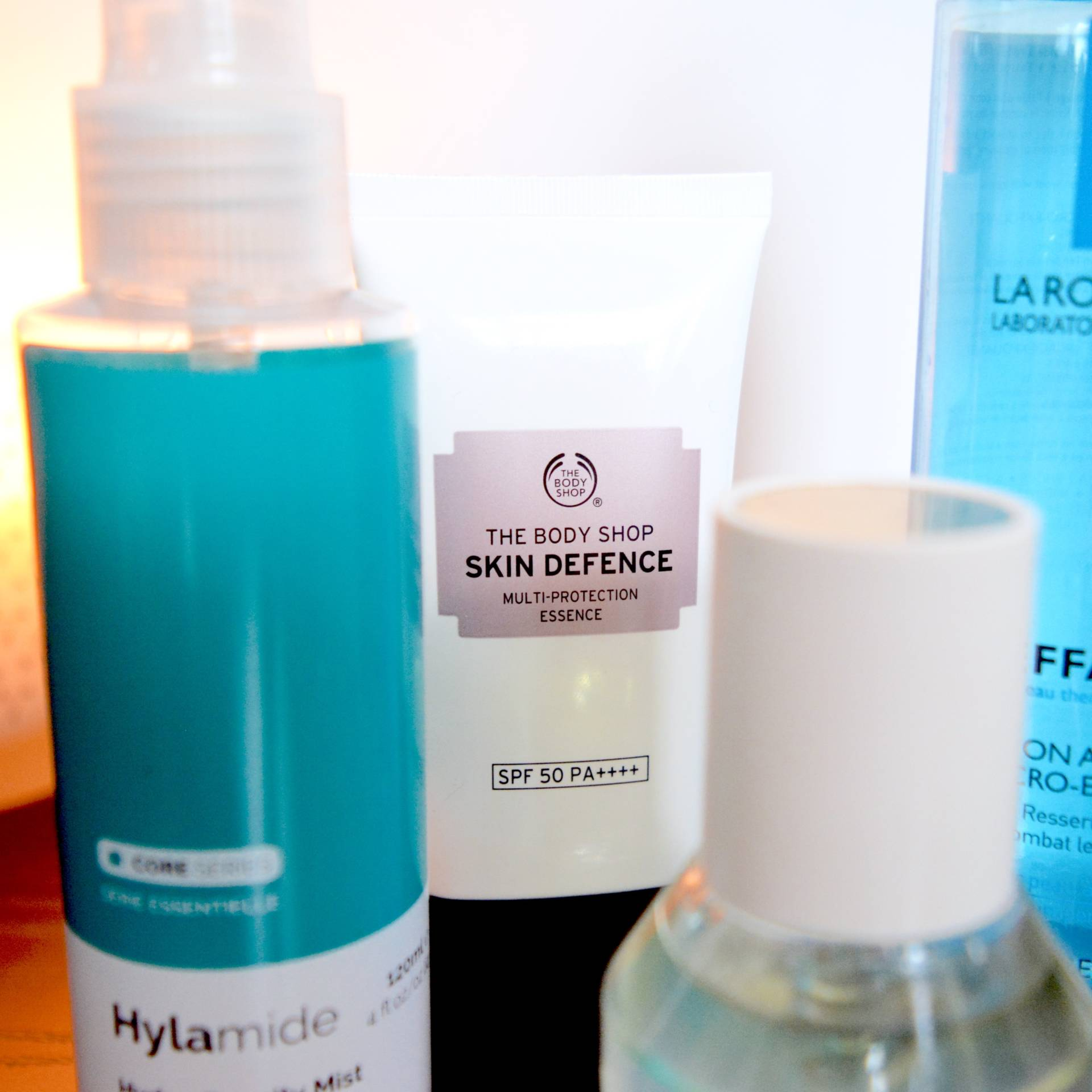 Skincare for rosacea and sensitive skin - The Body Shop Skin Defence Essence