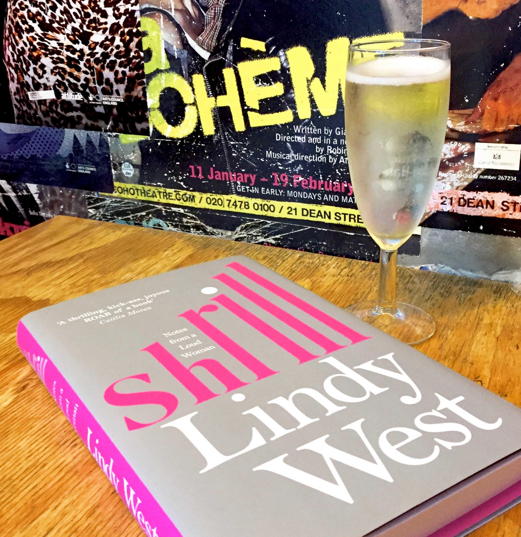 Shrill by Lindy West is one of my Friday Faves this week: funny, fearless and full of delicious feminism ;)