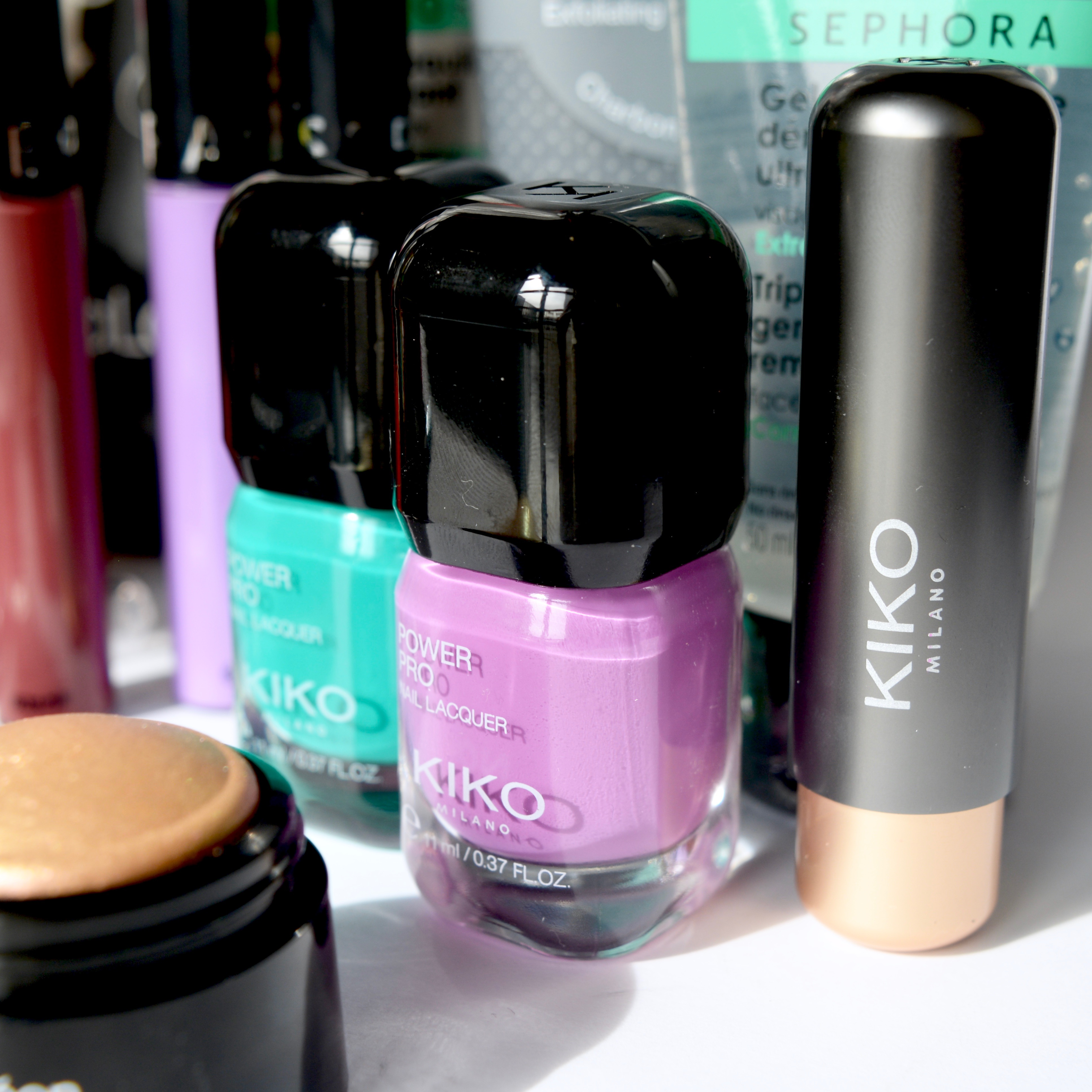 Kiko haul - these nail varnishes are perfect for spring
