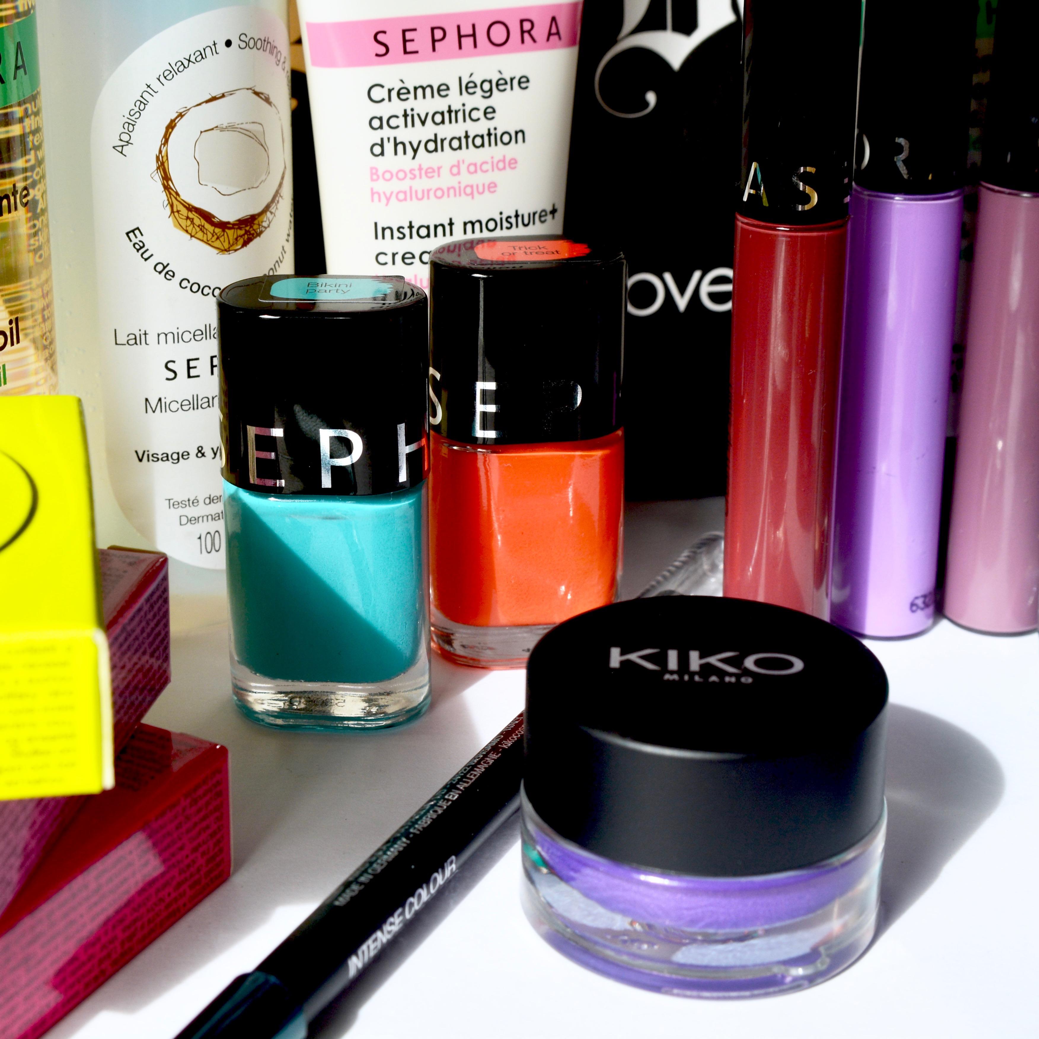 Sephora and Kiko French beauty haul