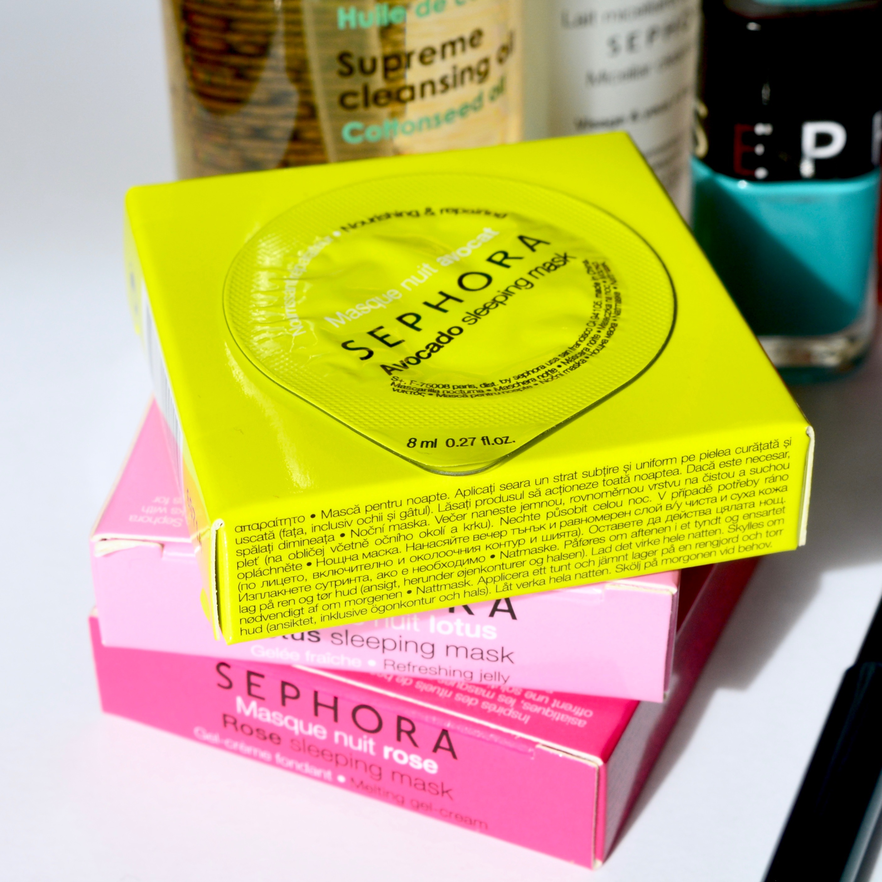 Have you tried the Sephora face masks?
