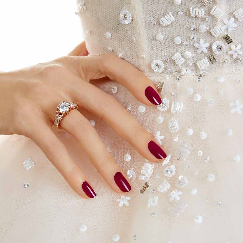 Essie Bridal 2017 Collection Red Nails