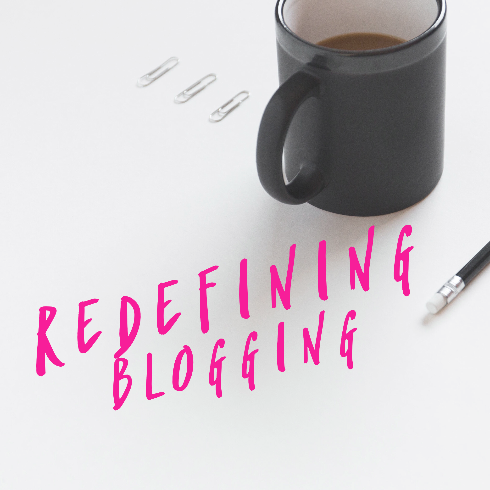 Redefining Blogging