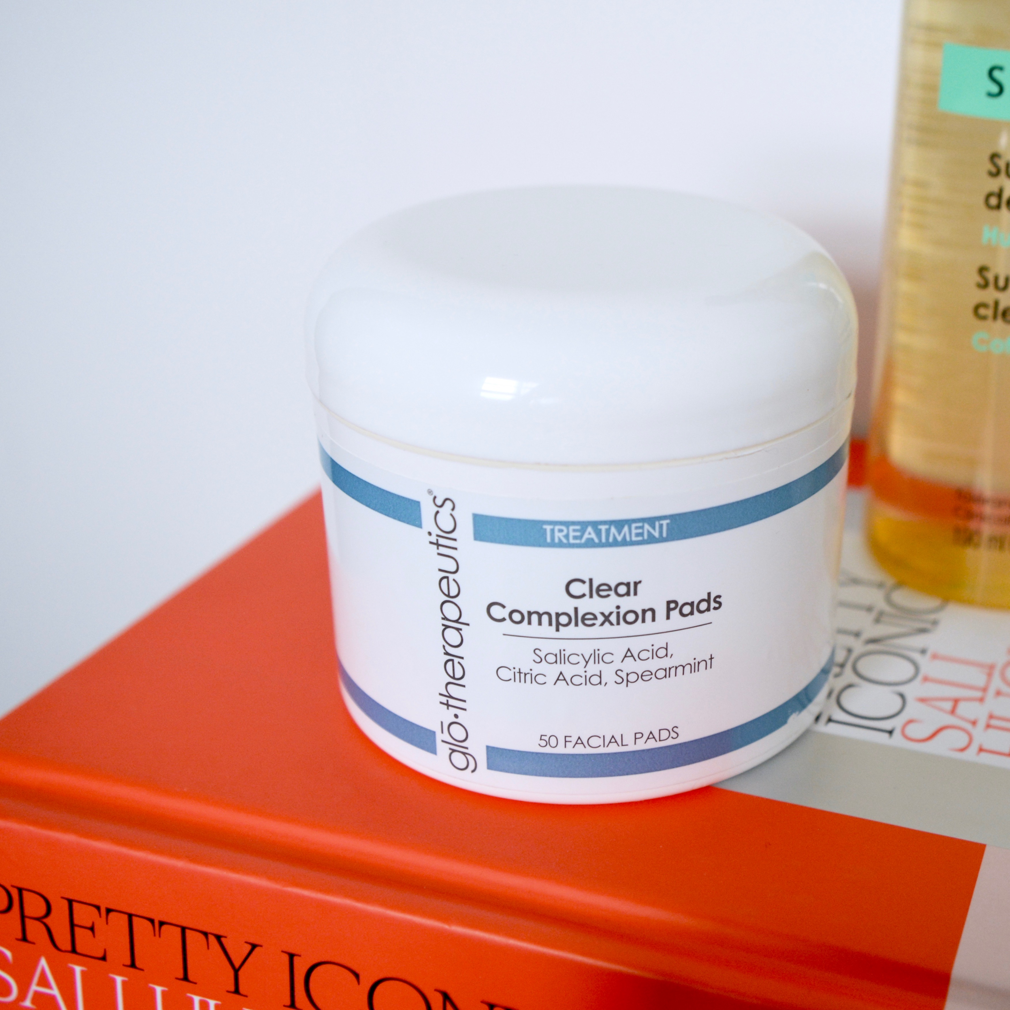 Skincare Shake Up April 17: glo-therapeutics clear complexion pads