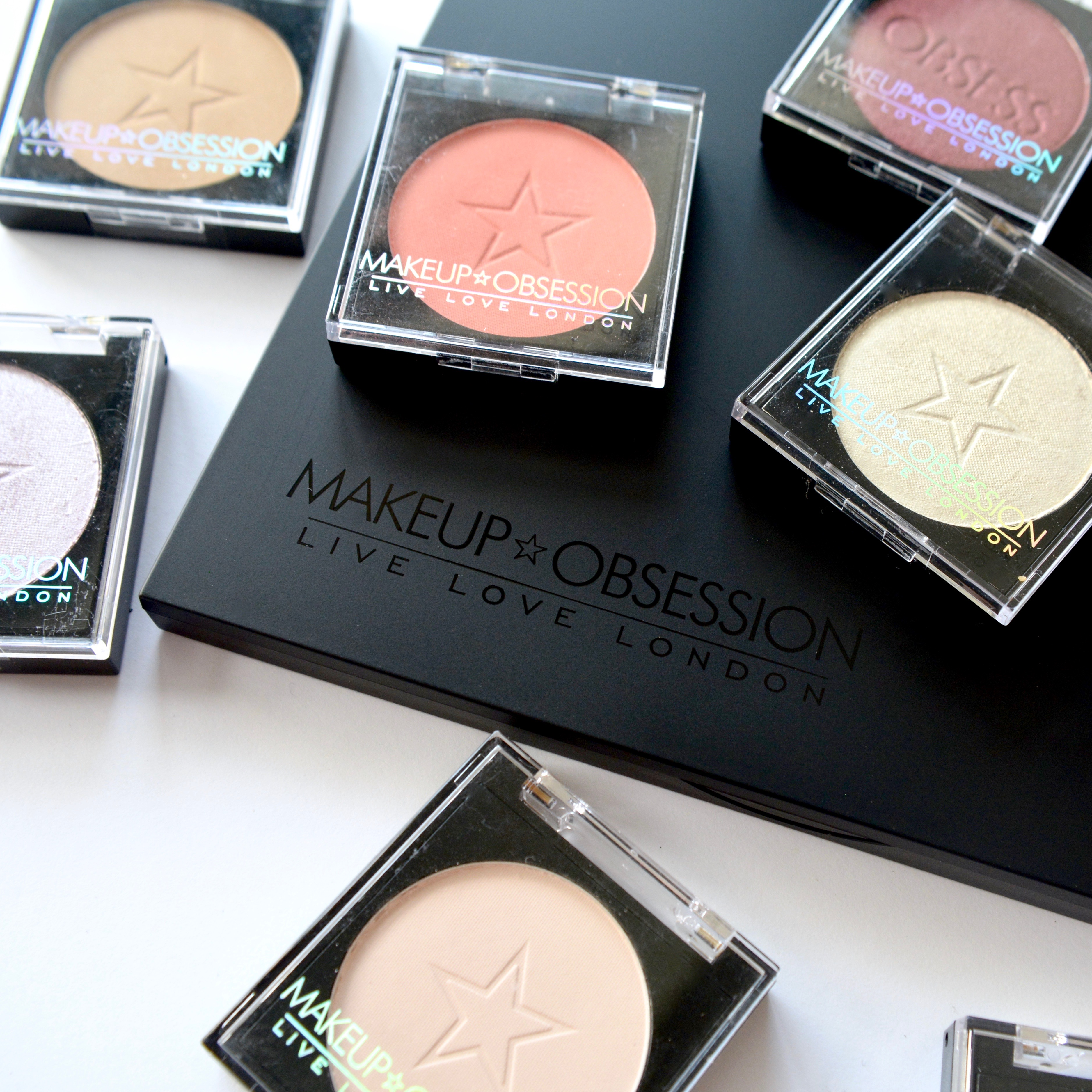 Highstreet Gems: Build your own palette with Make Up Obsession