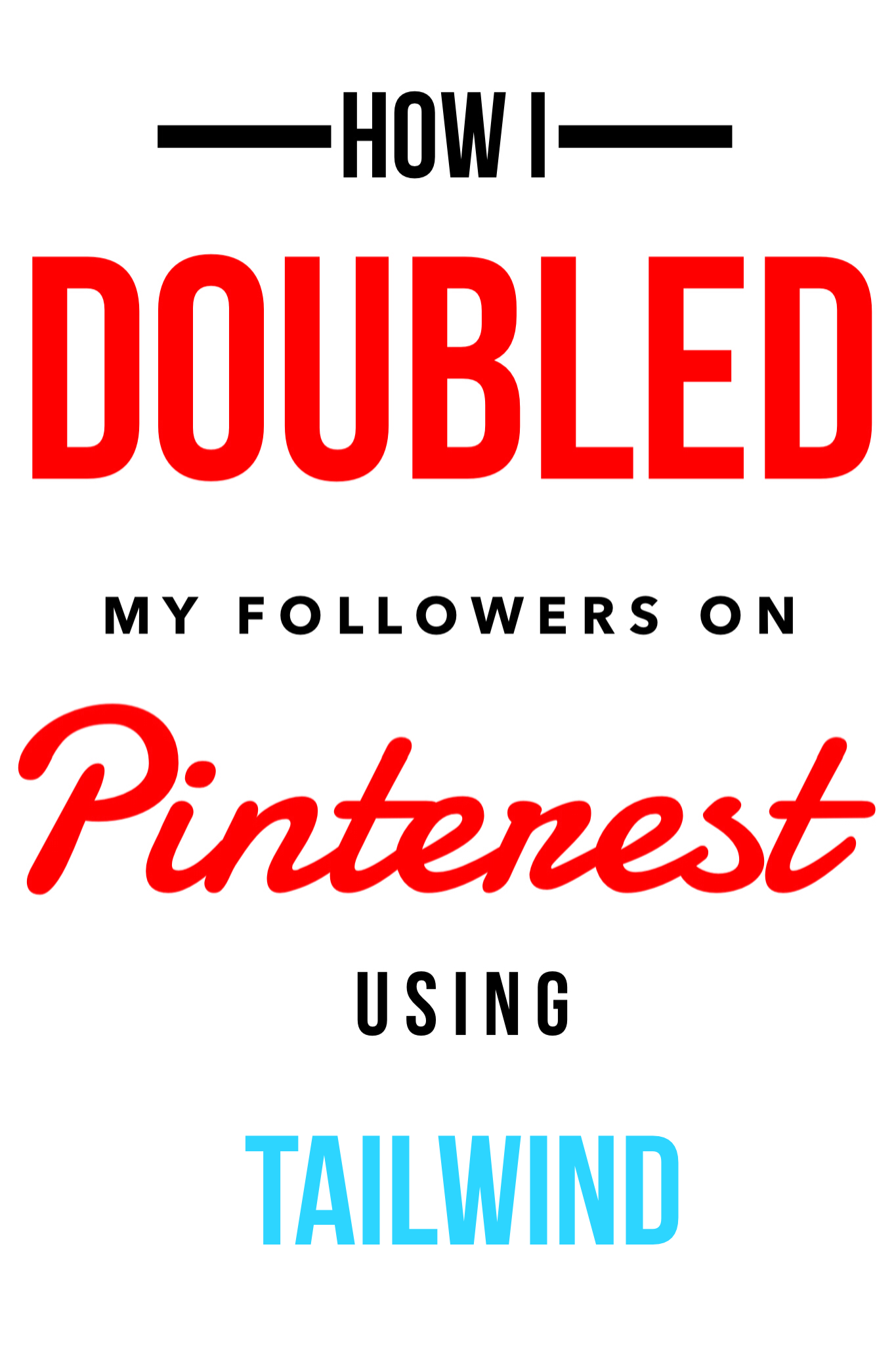 How to increase your Pinterest followers with Tailwind