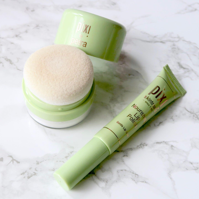 Friday Faves - Pixi Quick Fix Powder and Nourishing Lip Polish