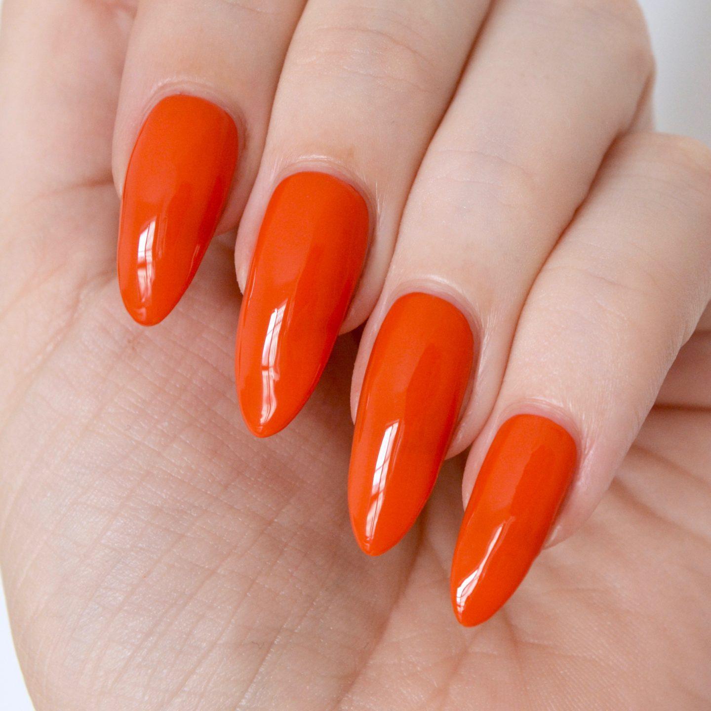 Margaret Dabbs nail varnish 'Tiger Lily'