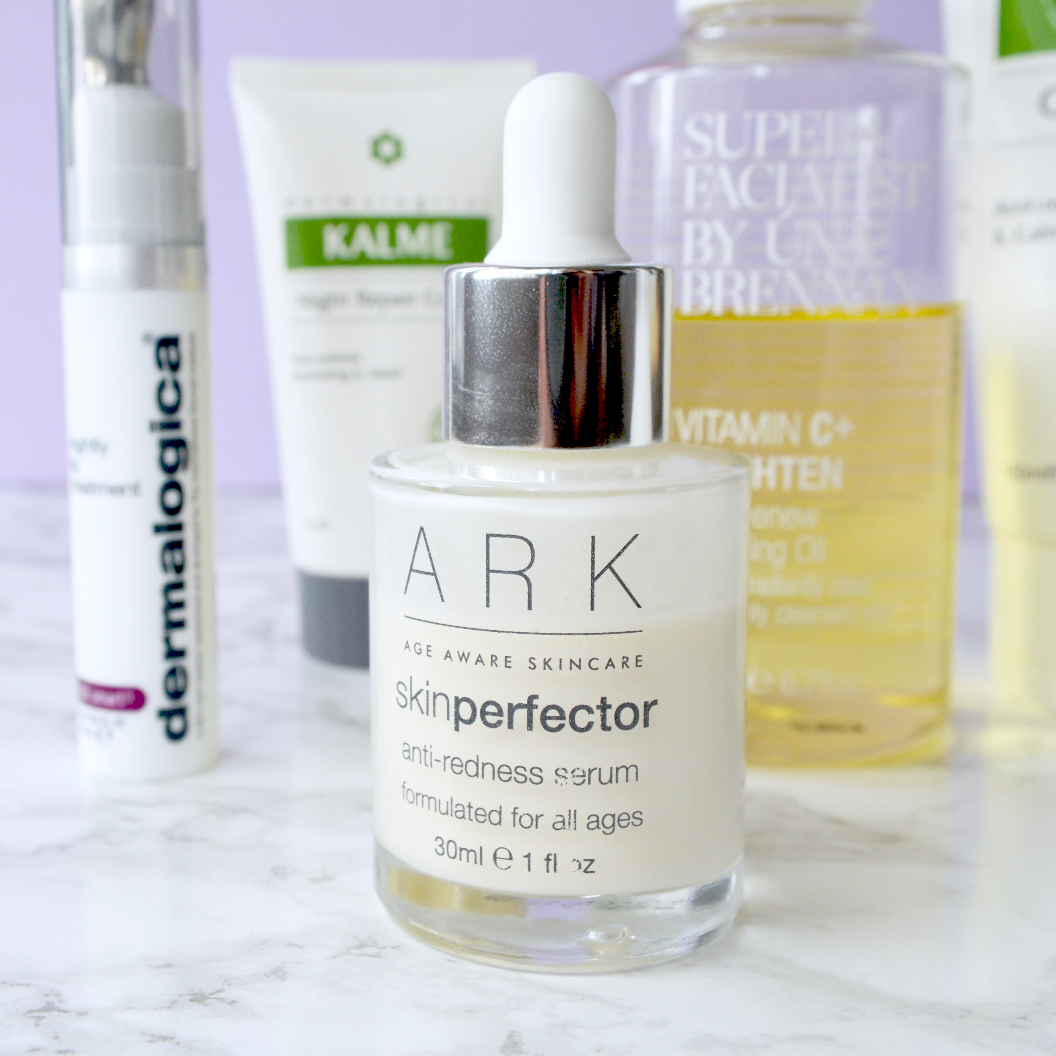 Skincare Shake Up: ARK skin perfector serum. Great recommendations for rosacea/sensitive skin