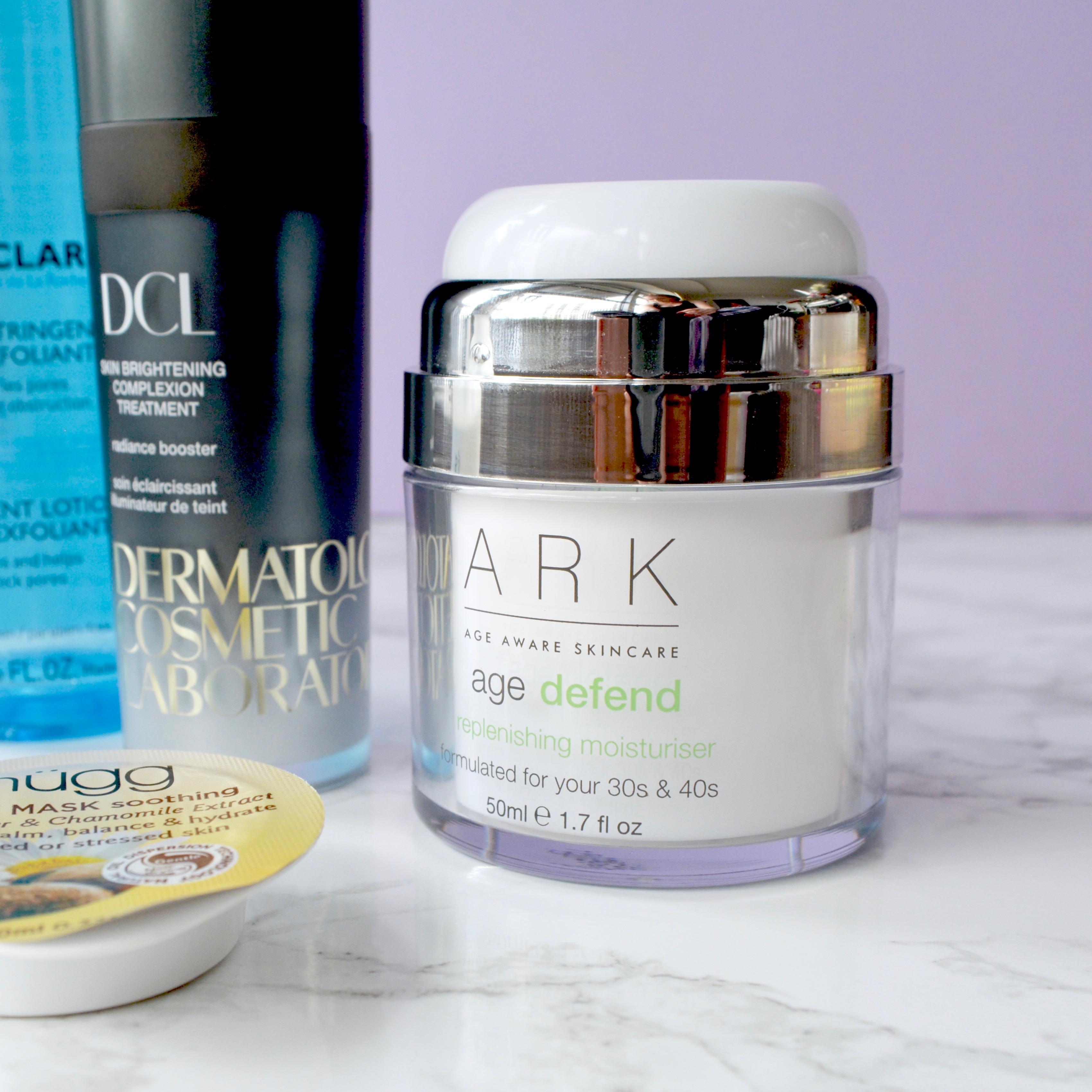 Skincare Shake Up: ARK age defend moisturiser. Great recommendations for rosacea/sensitive skin