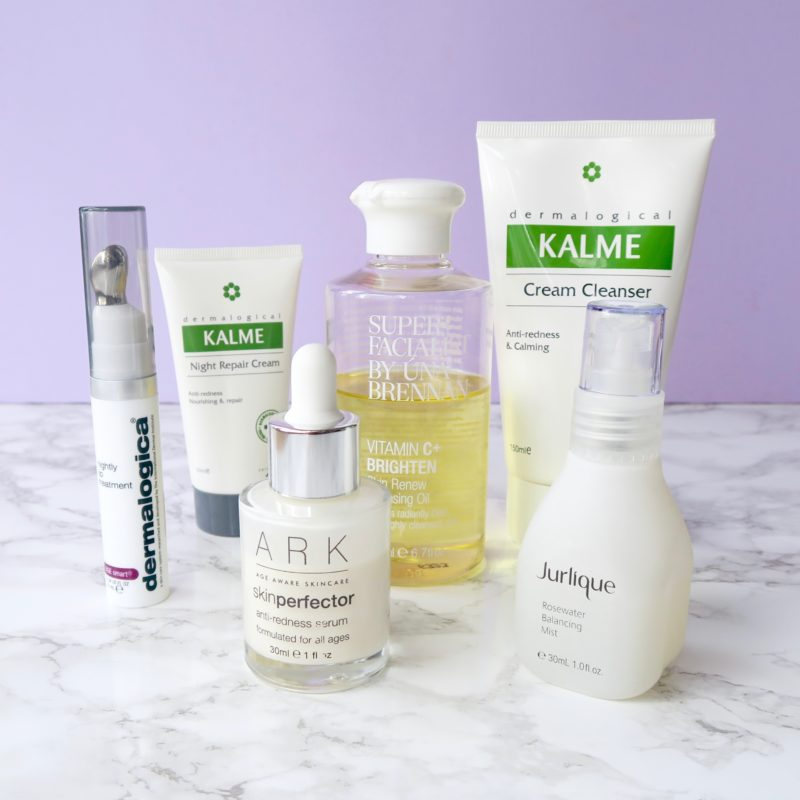 Skincare Shake Up evening skincare routine for rosacea/sensitive skin