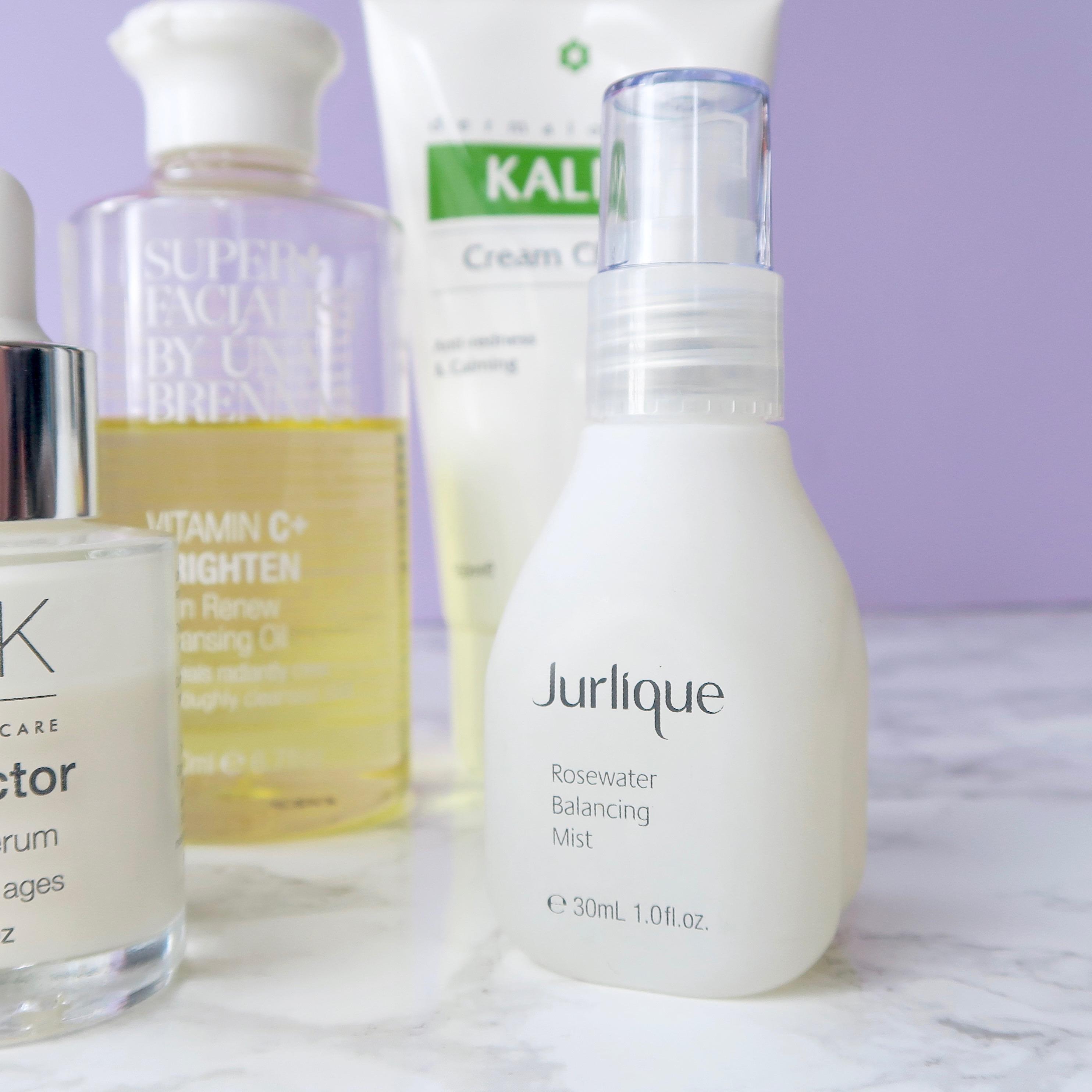 Skincare Shake Up: Jurlique rosewater mist, great for rosacea/sensitive