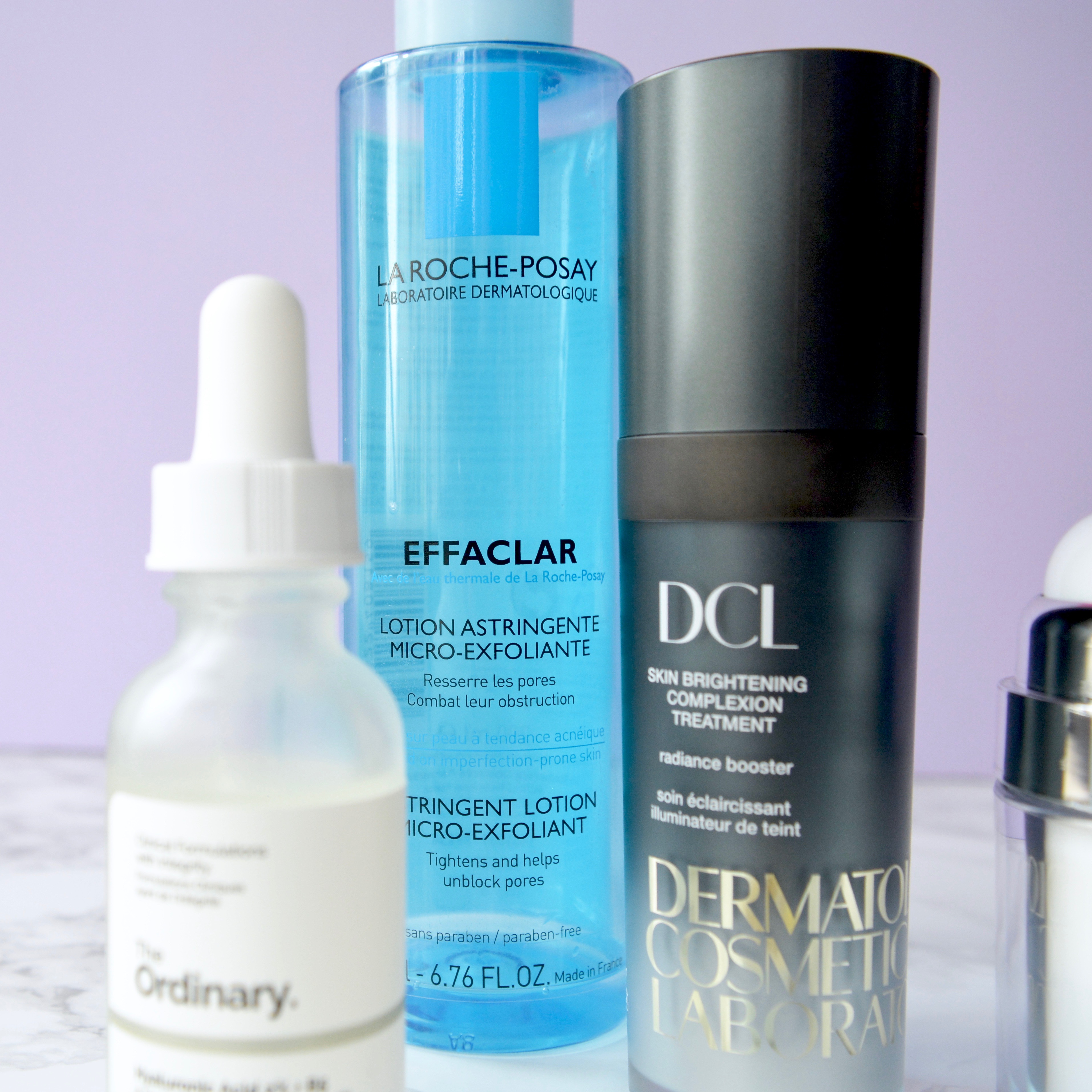 Skincare Shake Up: La Roche Posay Effaclar toner. Great recommendations for rosacea/sensitive skin