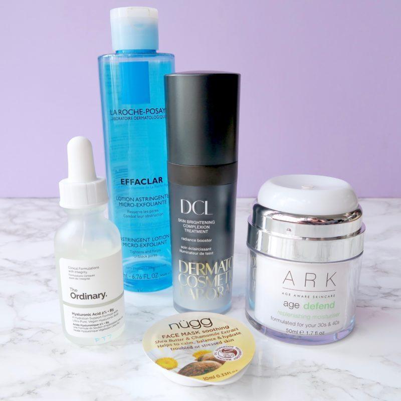 Skincare Shake Up morning skincare routine for rosacea/sensitive skin