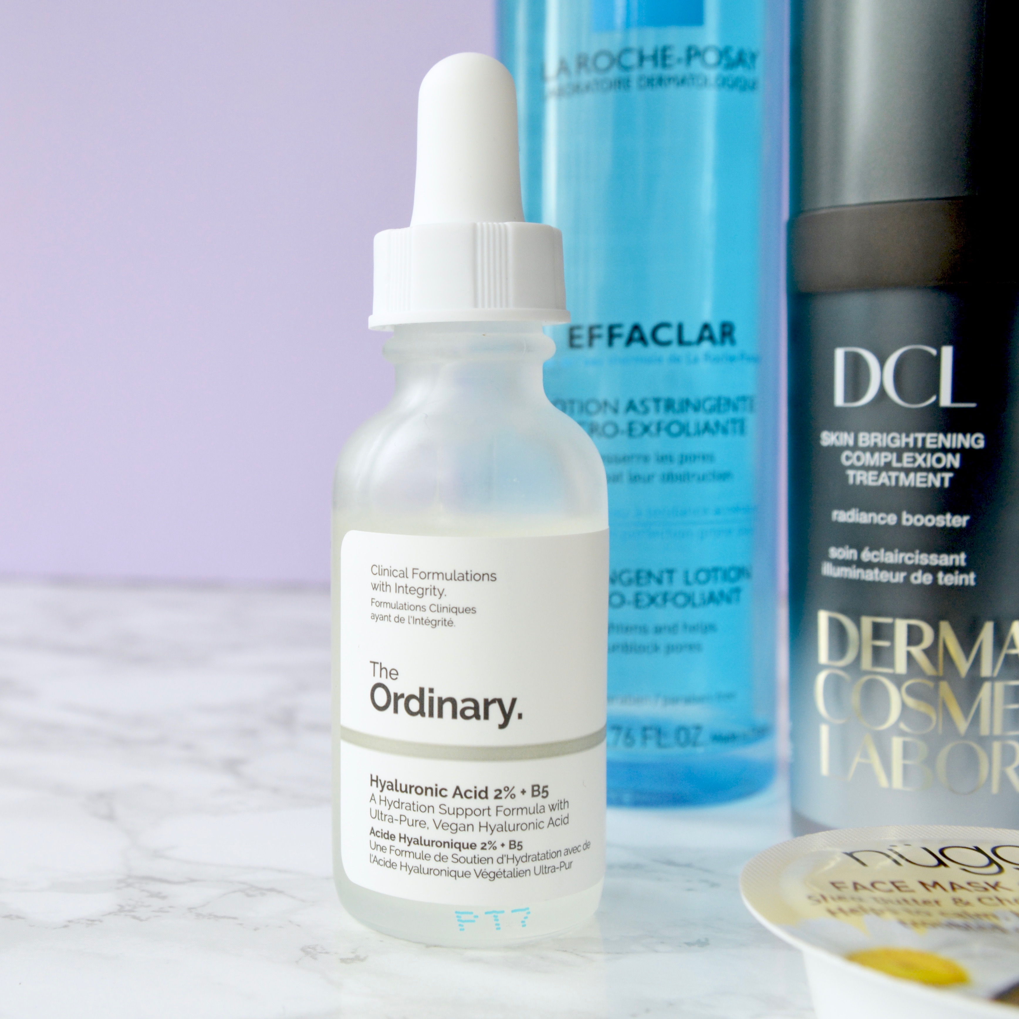 Skincare Shake Up: The Ordinary Hyaluronic Acid serum. Great recommendations for rosacea/sensitive skin