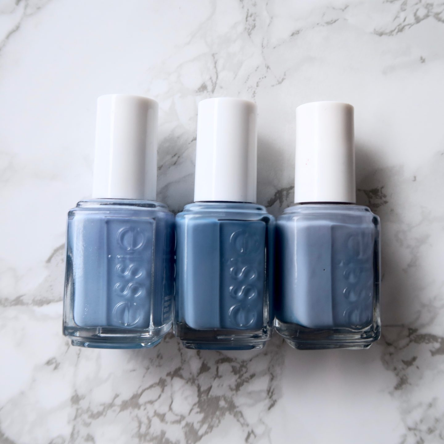 Essie Fall 2017 collection - As If! comparison with similar essie polishes