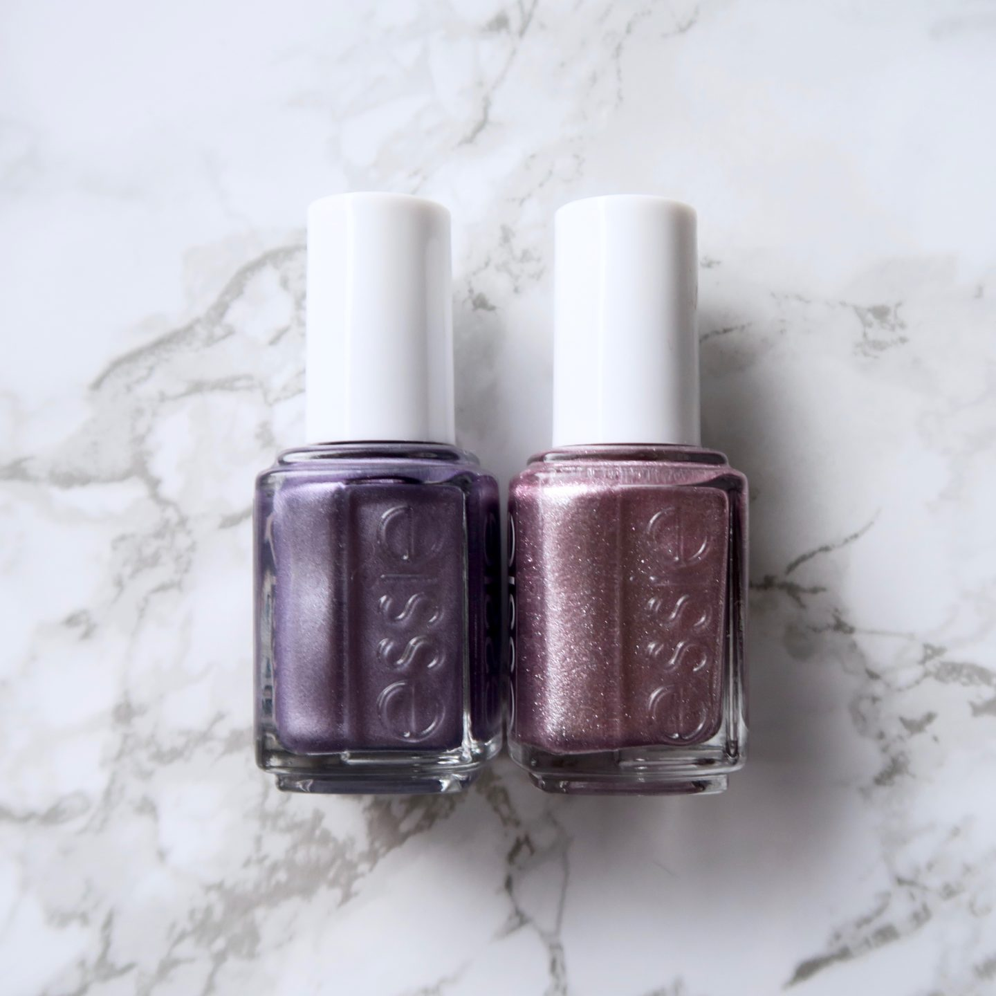 Essie Fall 2017 collection - Girly Grunge, comparison with similar essie polishes
